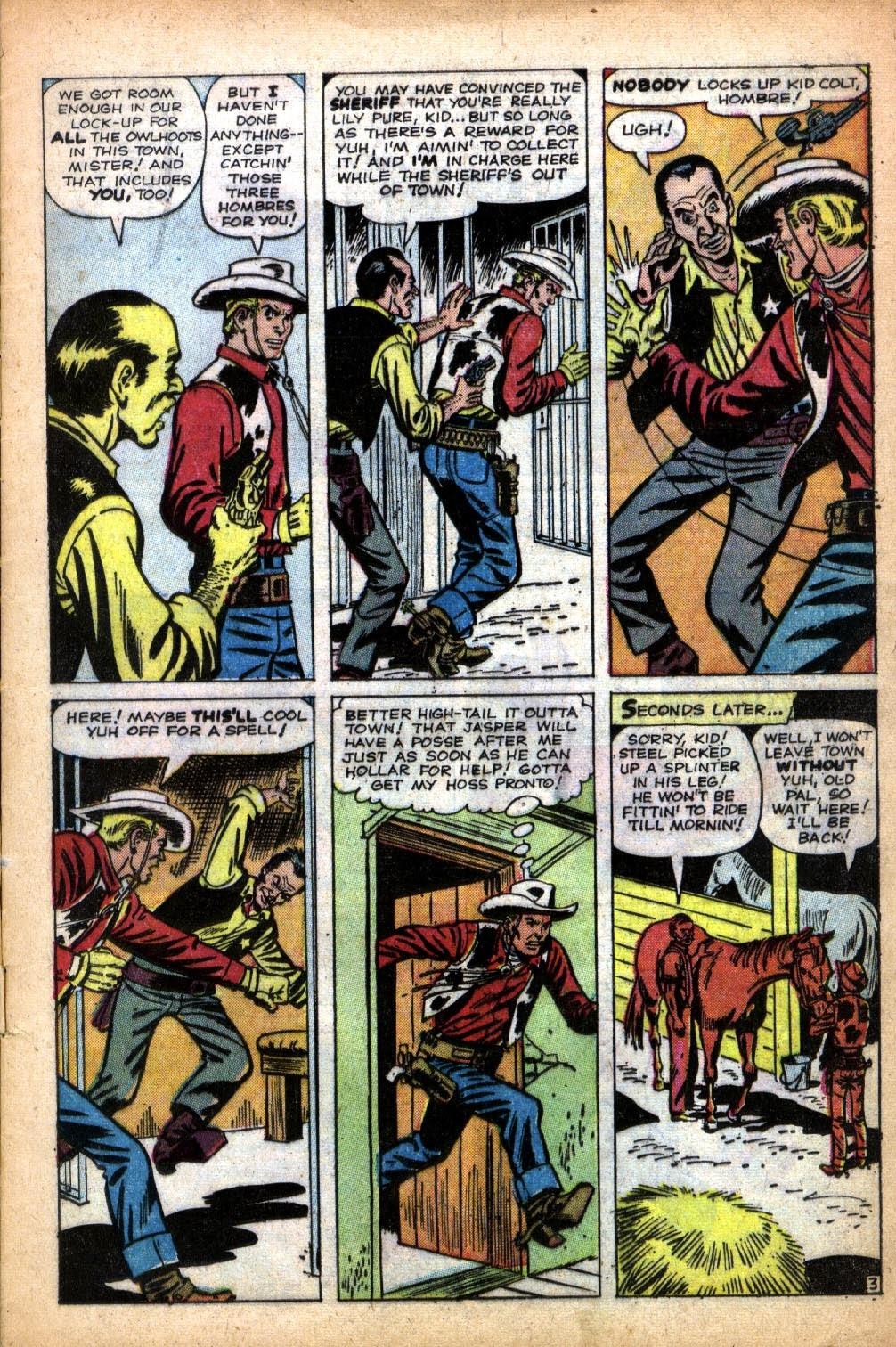 Gunsmoke Western issue 66 - Page 5