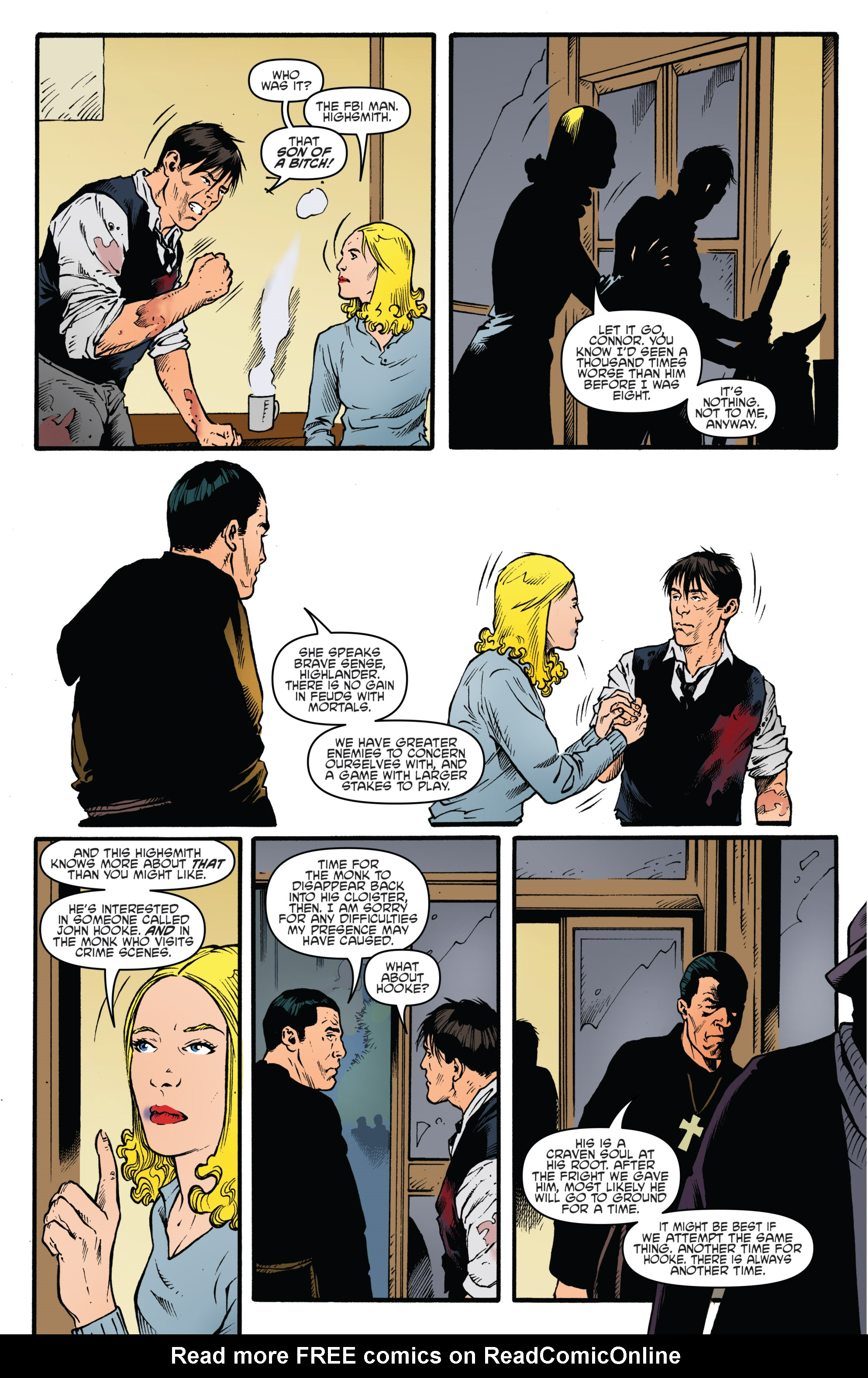 Read online Highlander: The American Dream comic -  Issue #4 - 14