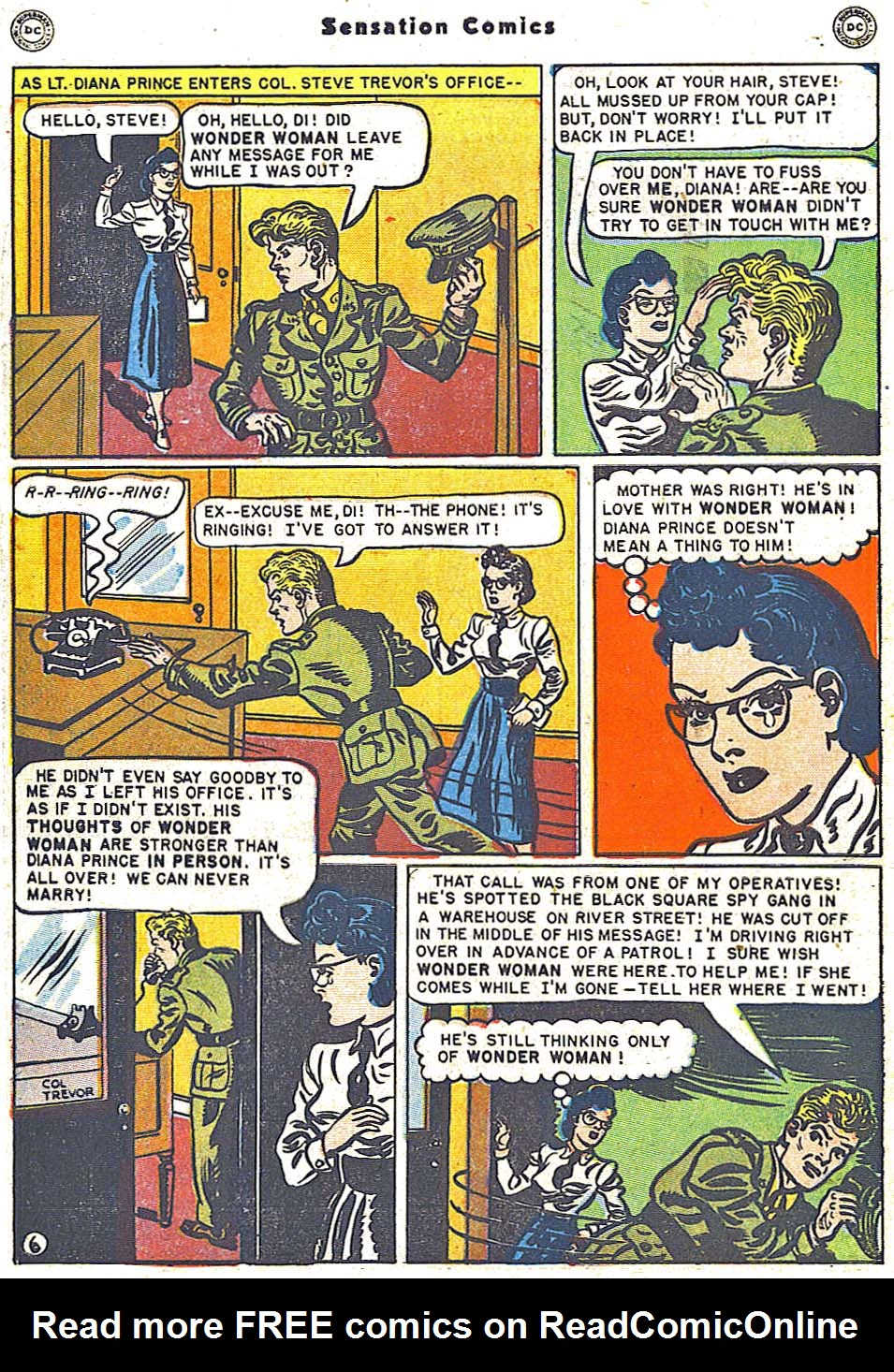 Read online Sensation (Mystery) Comics comic -  Issue #96 - 8