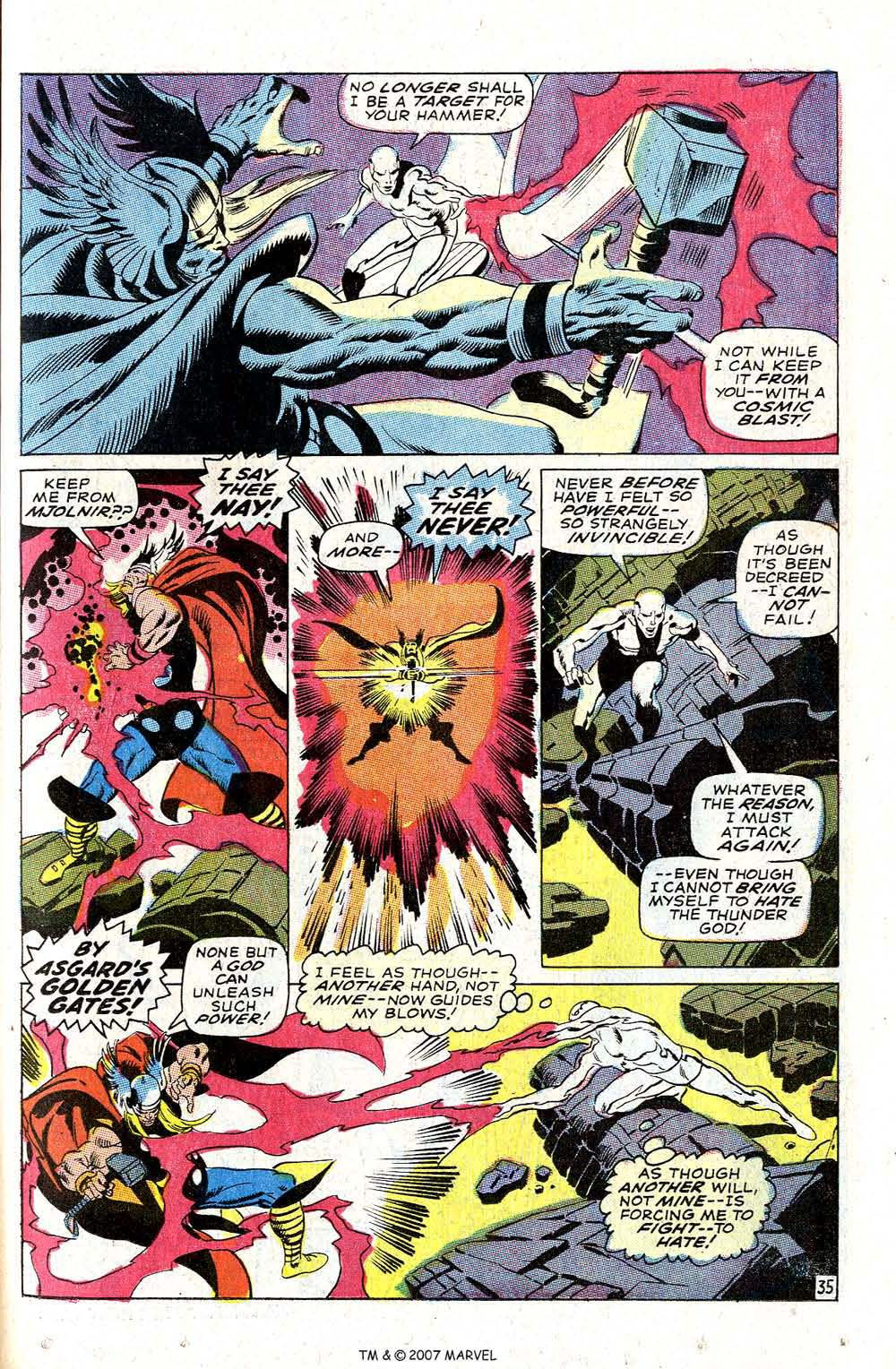 Read online Silver Surfer (1968) comic -  Issue #4 - 43