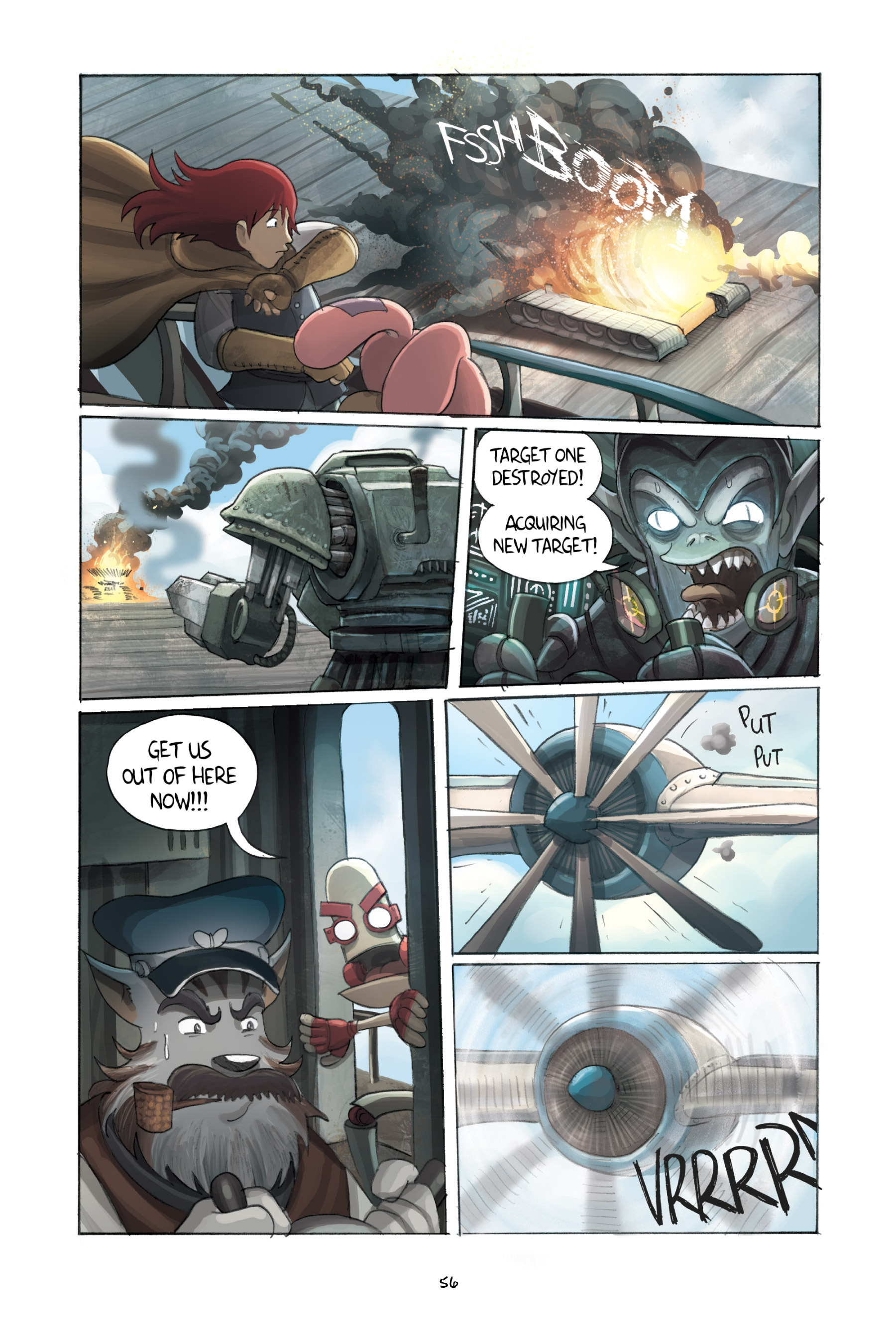 Read online Amulet comic -  Issue #3 - 55