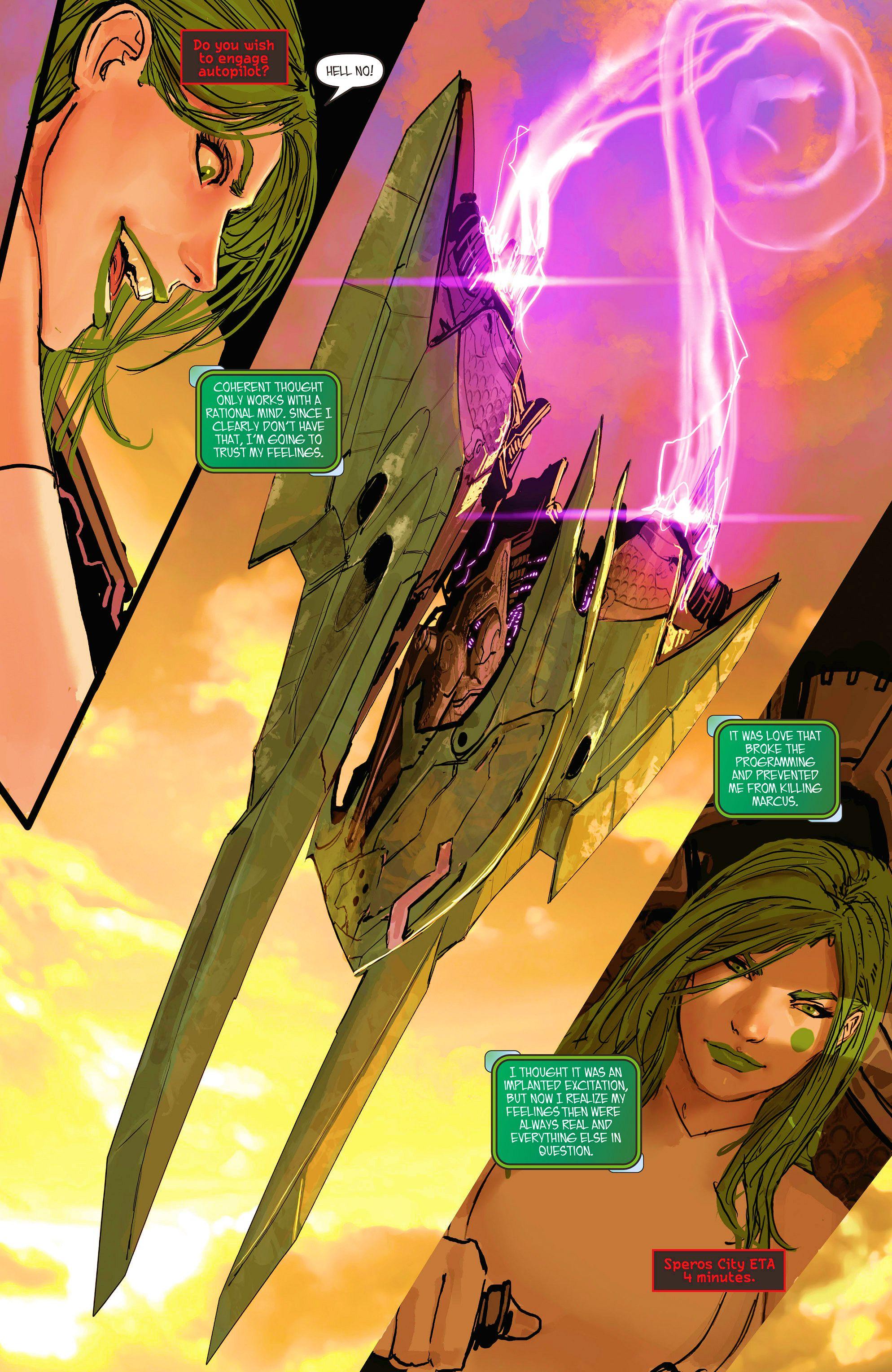 Read online Aphrodite IX (2013) comic -  Issue #11 - 13