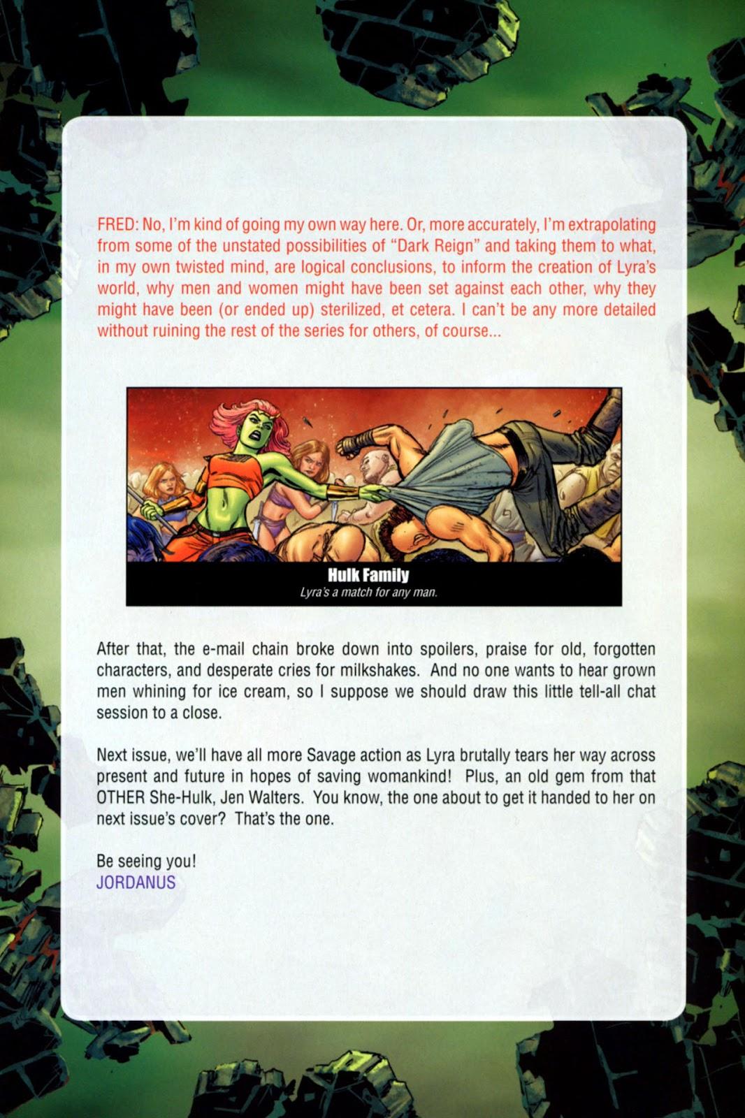 Savage She-Hulk Issue #1 #1 - English 33