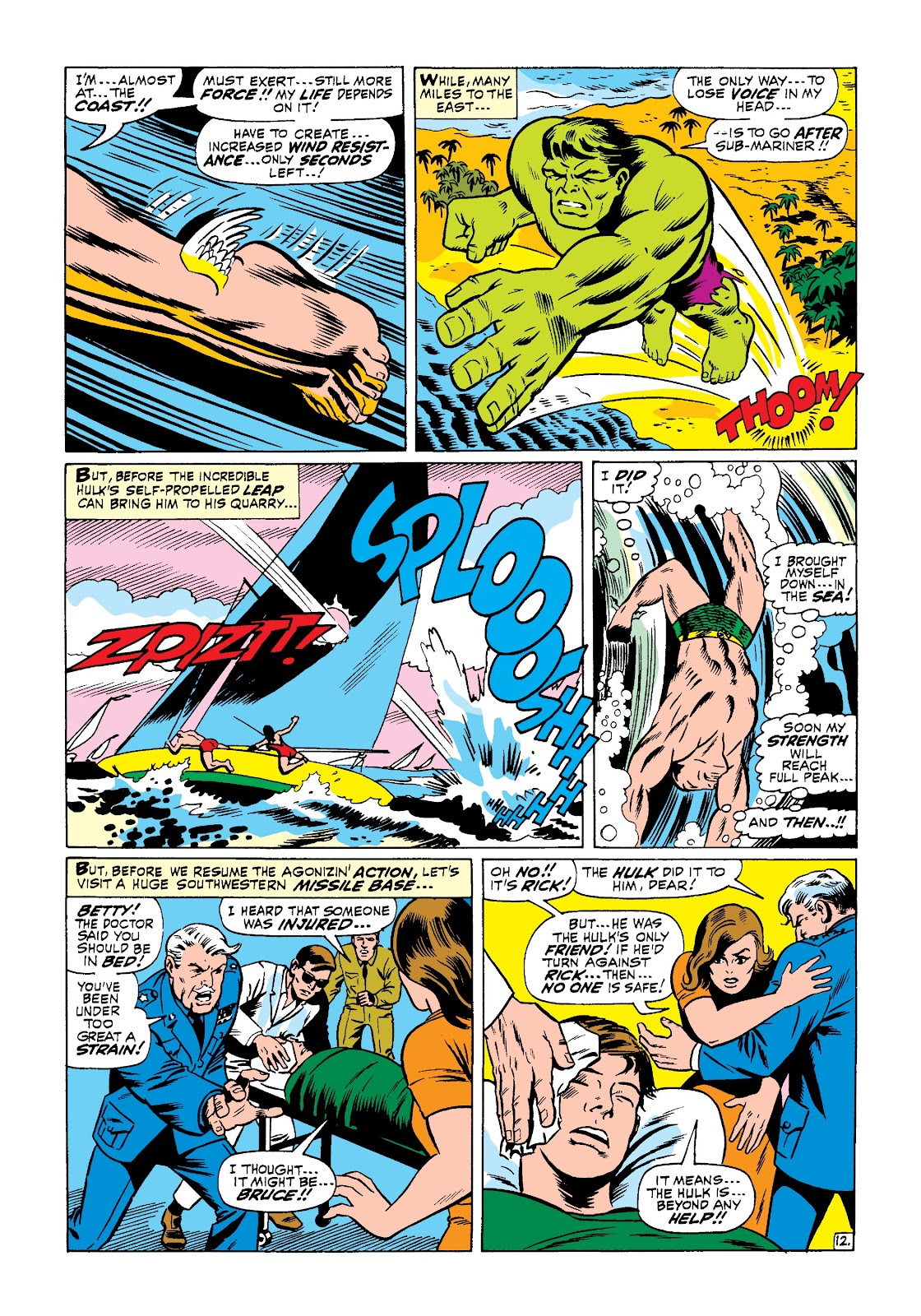 Read online Marvel Masterworks: The Incredible Hulk comic -  Issue # TPB 3 (Part 3) - 40
