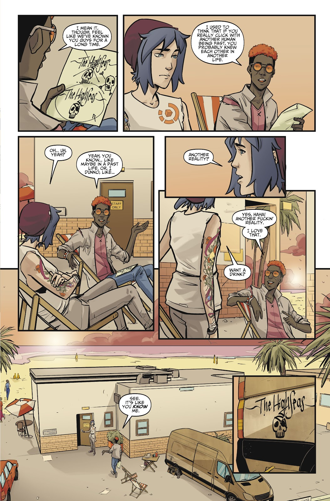 Read online Life is Strange comic -  Issue #10 - 27