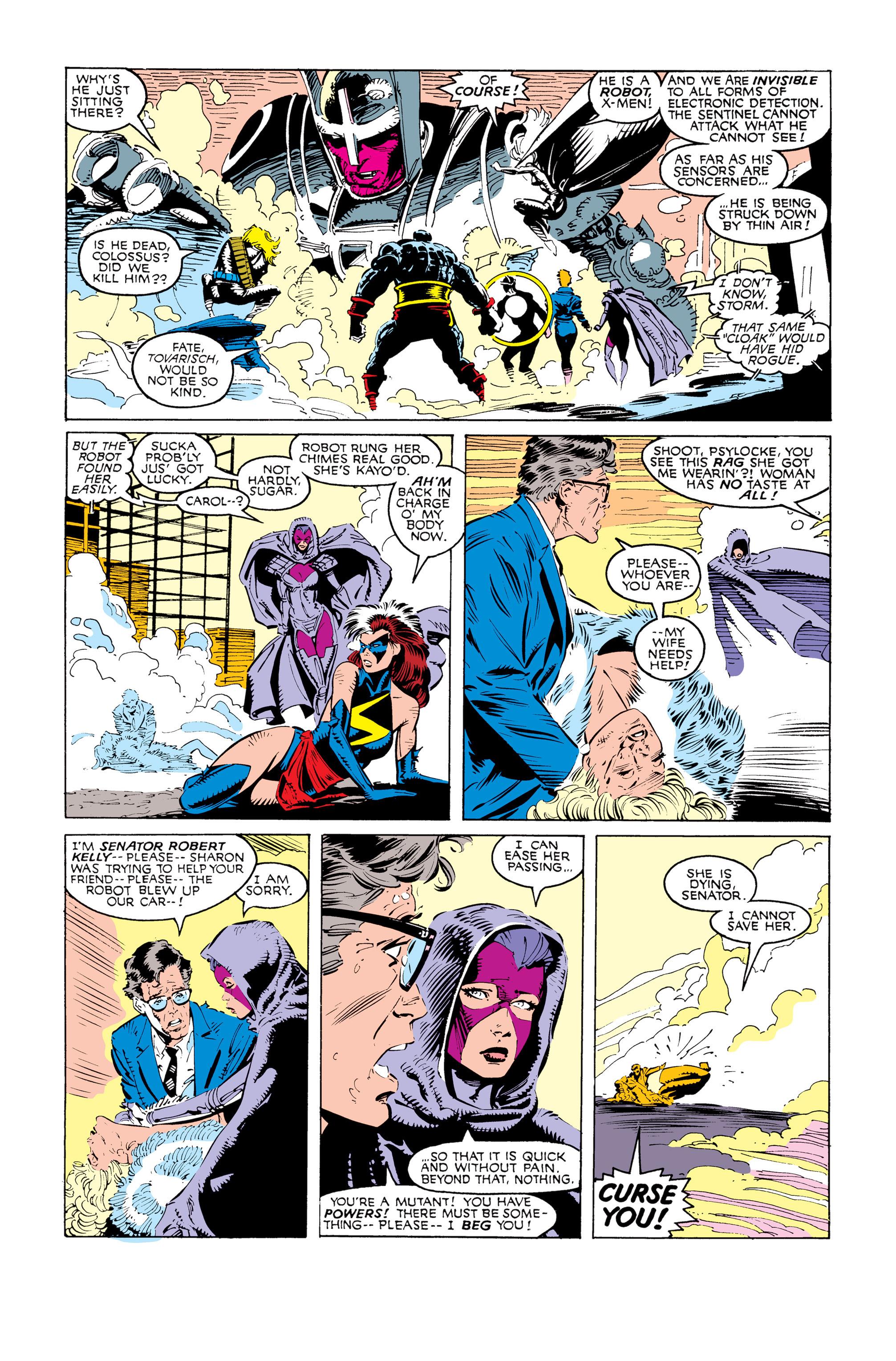 Read online Uncanny X-Men (1963) comic -  Issue #247 - 4