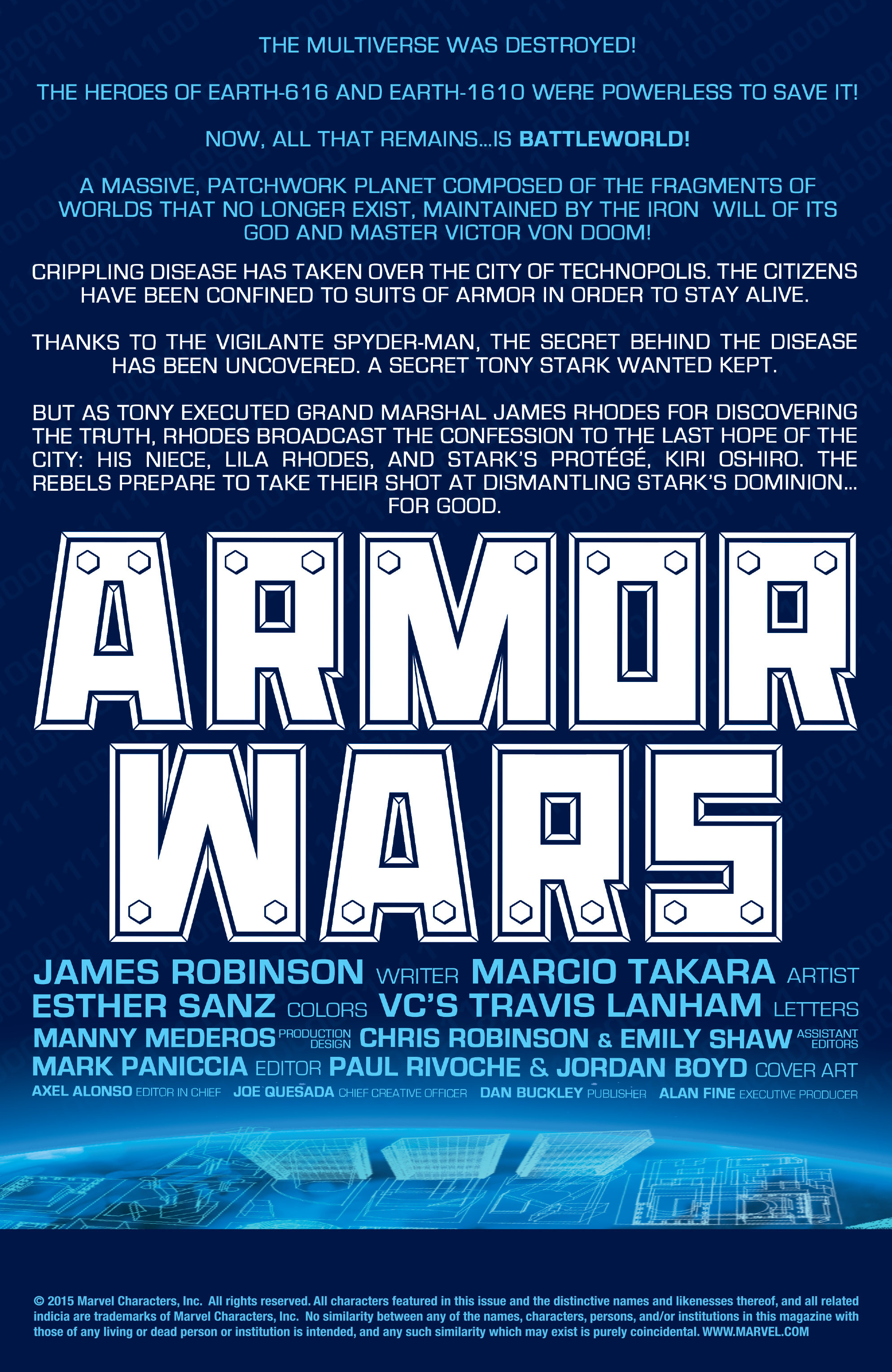 Read online Armor Wars comic -  Issue #5 - 2