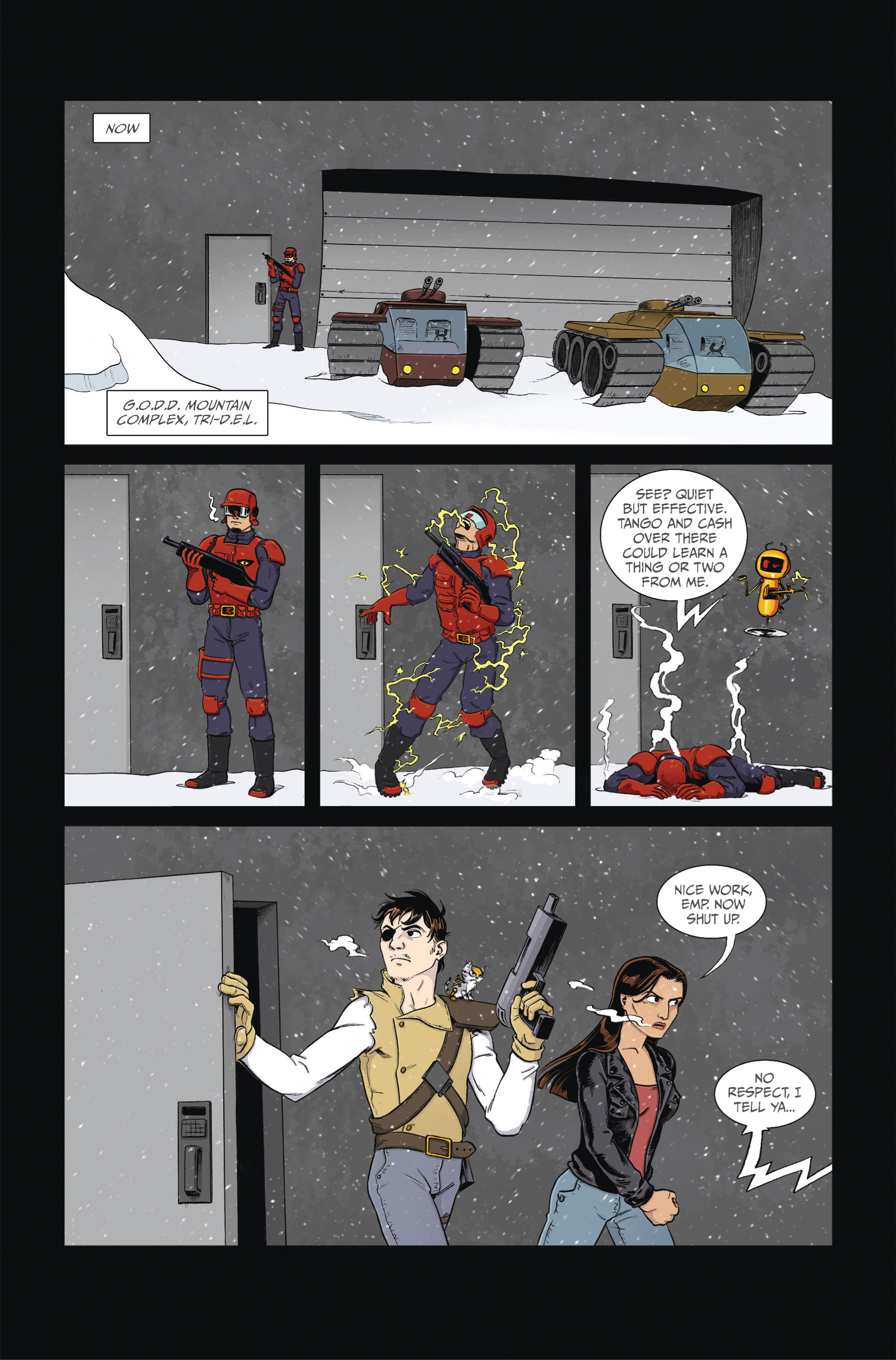 Read online Ehmm Theory: Everything & Small Doses comic -  Issue #2 - 7