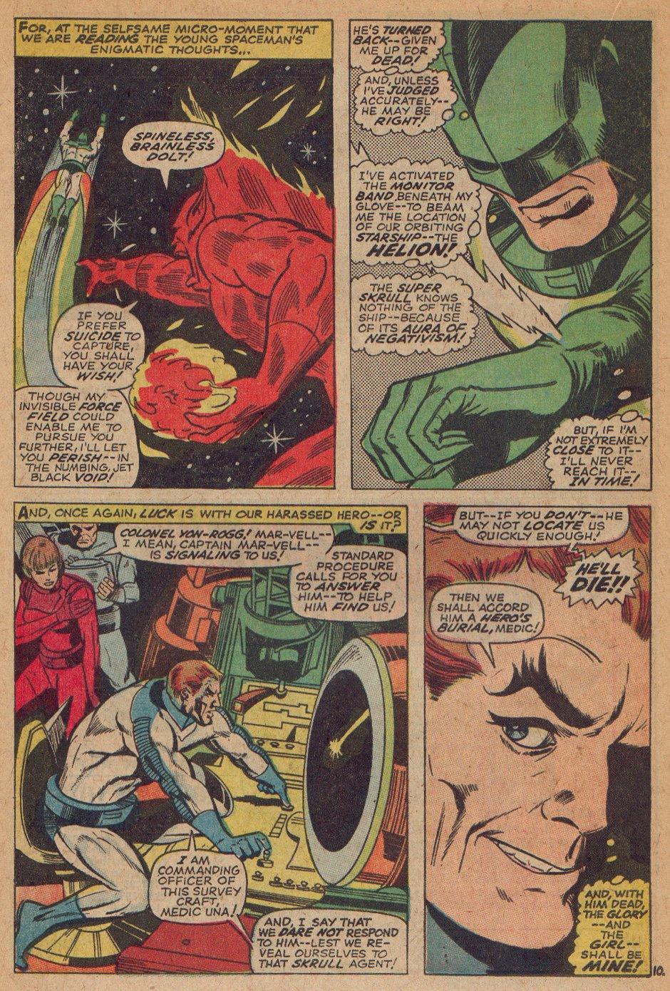 Captain Marvel (1968) Issue #3 #3 - English 11