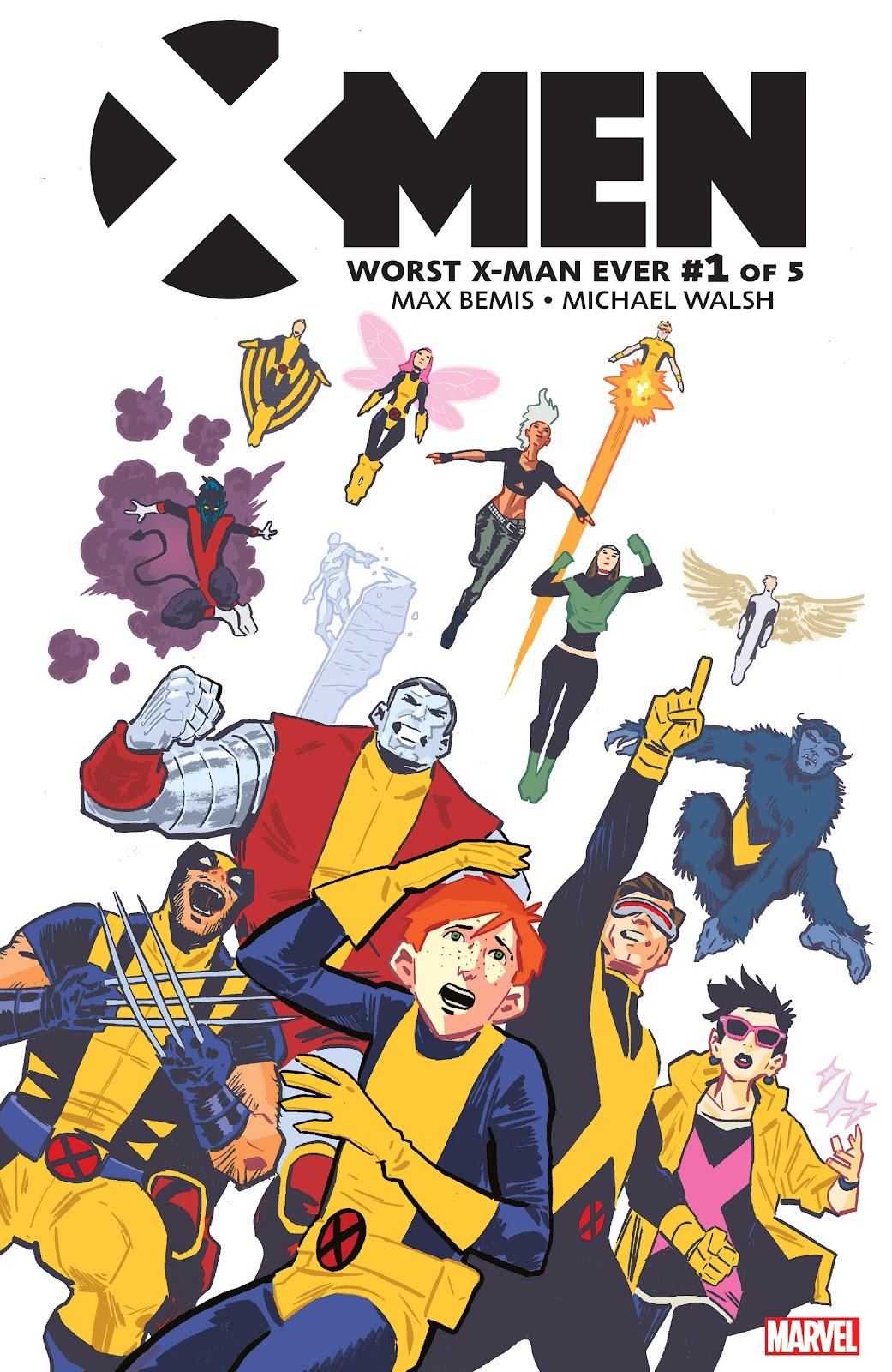 X-Men: Worst X-Man Ever 1 Page 1