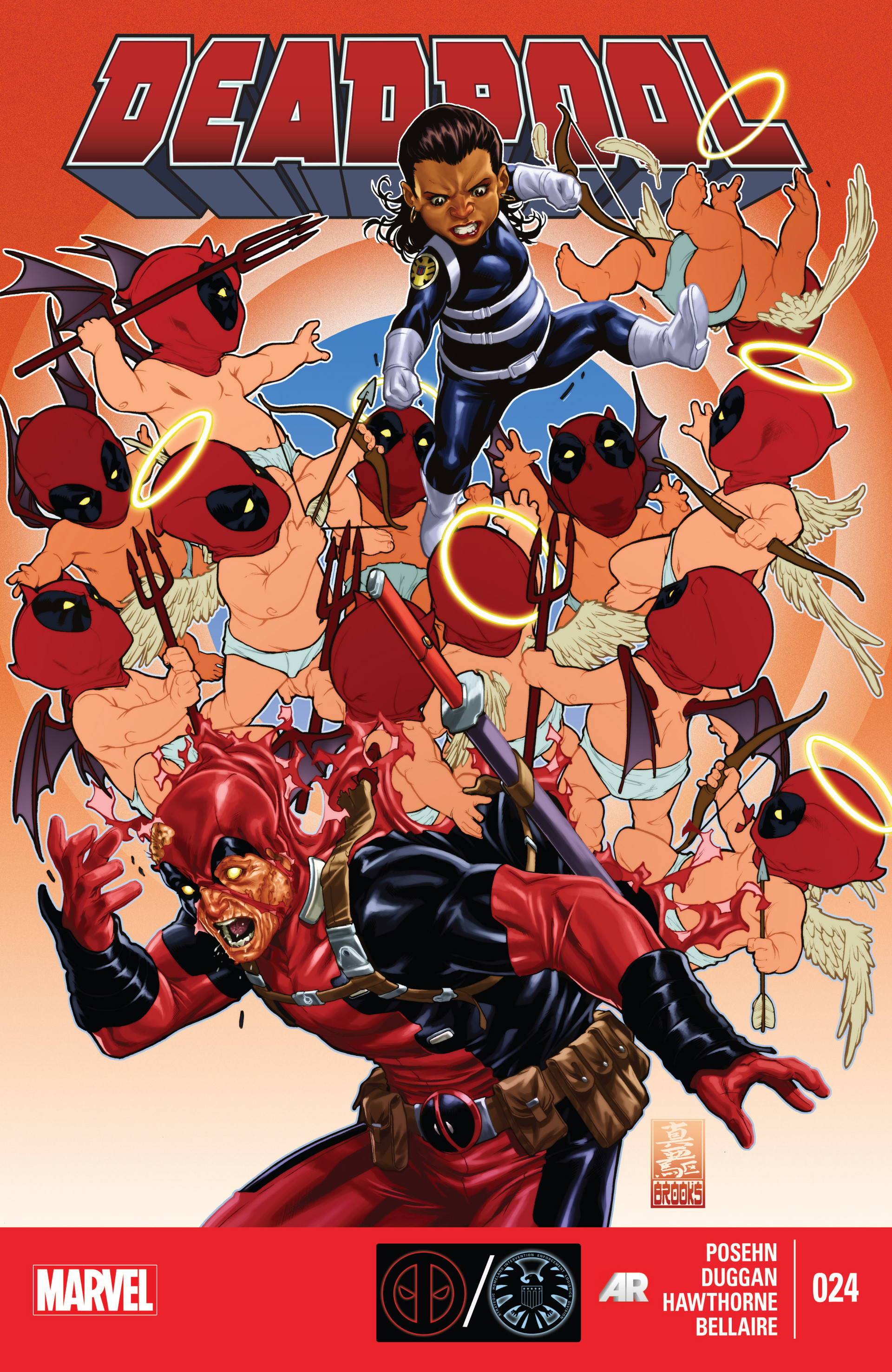 Deadpool (2013) 24 Page 1