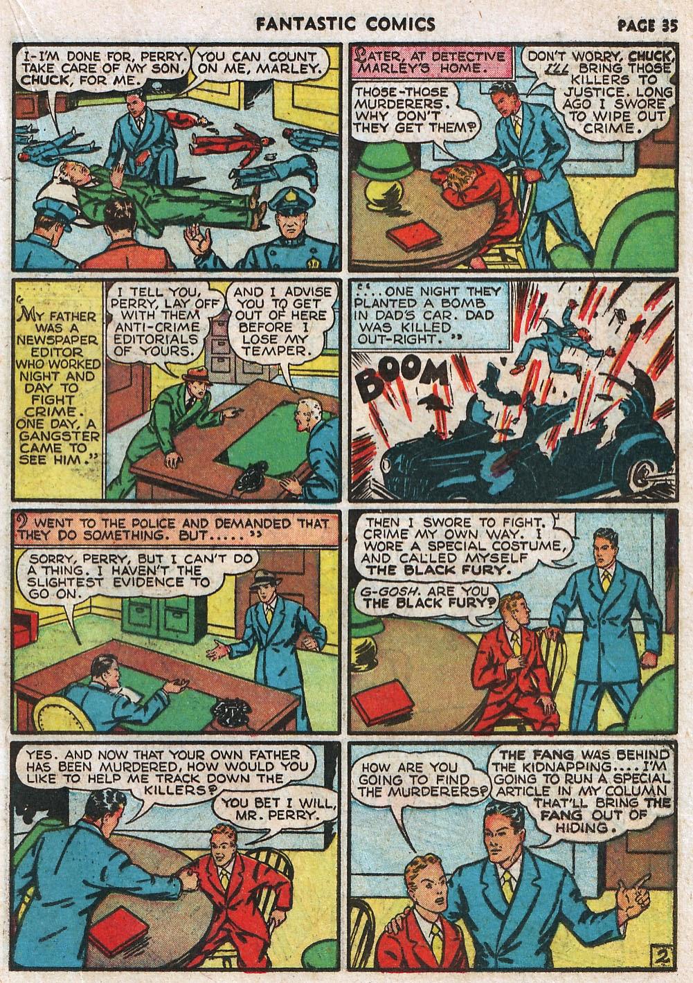 Read online Fantastic Comics comic -  Issue #17 - 36