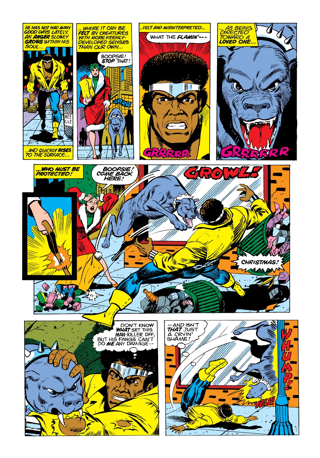 Read online Marvel Masterworks: Luke Cage, Power Man comic -  Issue # TPB 2 (Part 1) - 91