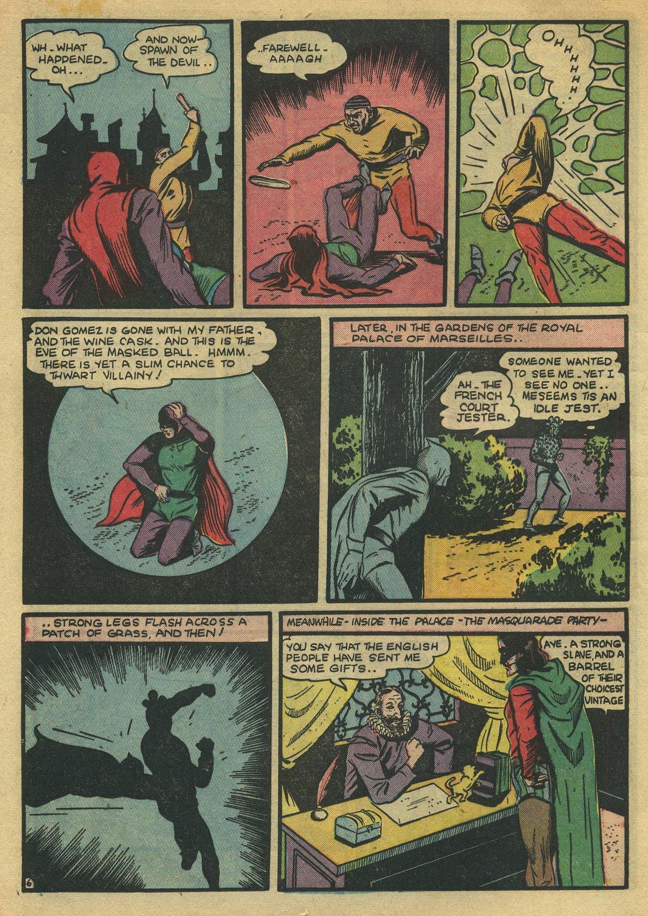 Read online Sensation (Mystery) Comics comic -  Issue #10 - 22
