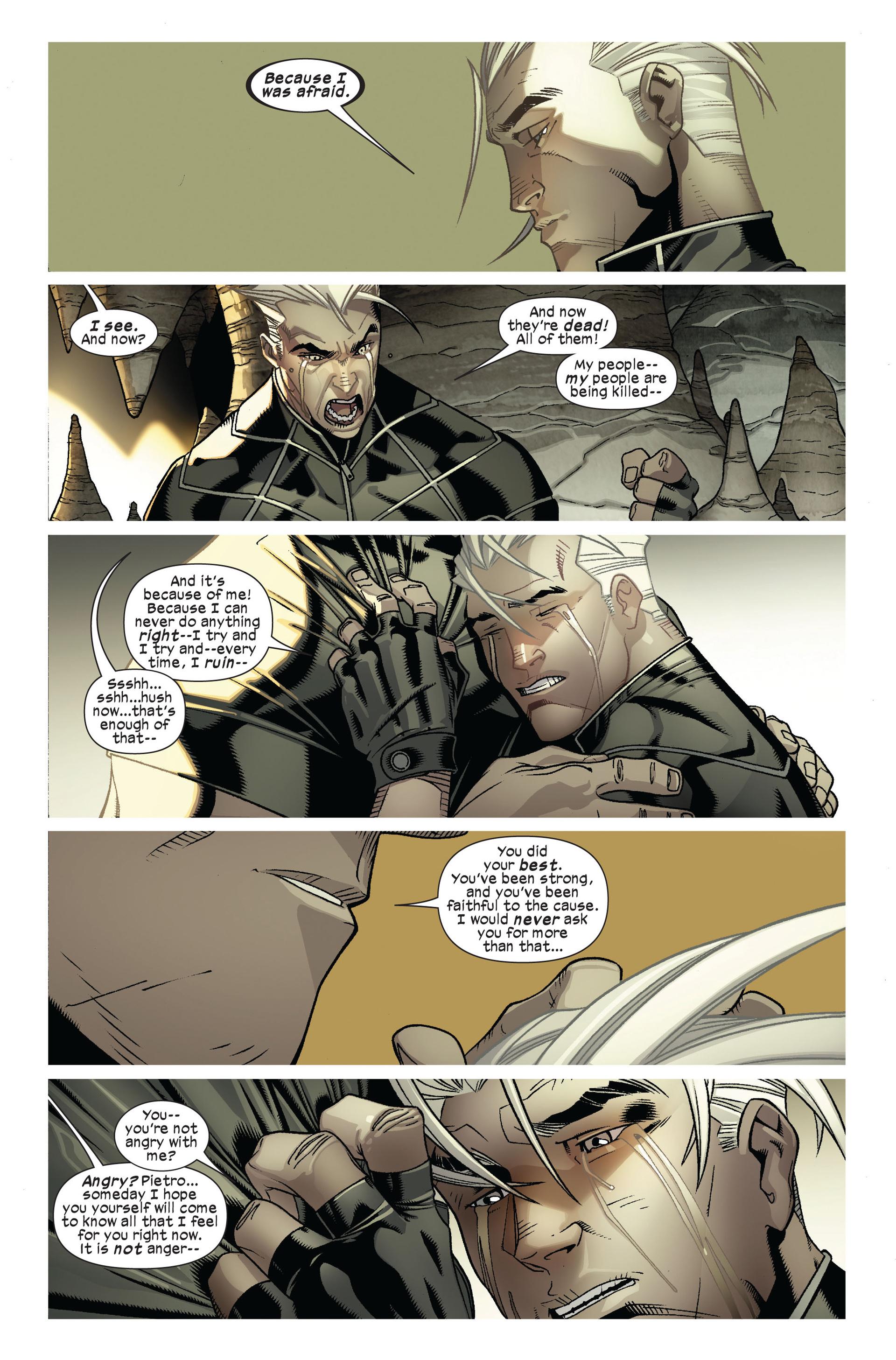 Read online Ultimate Comics X-Men comic -  Issue #7 - 21