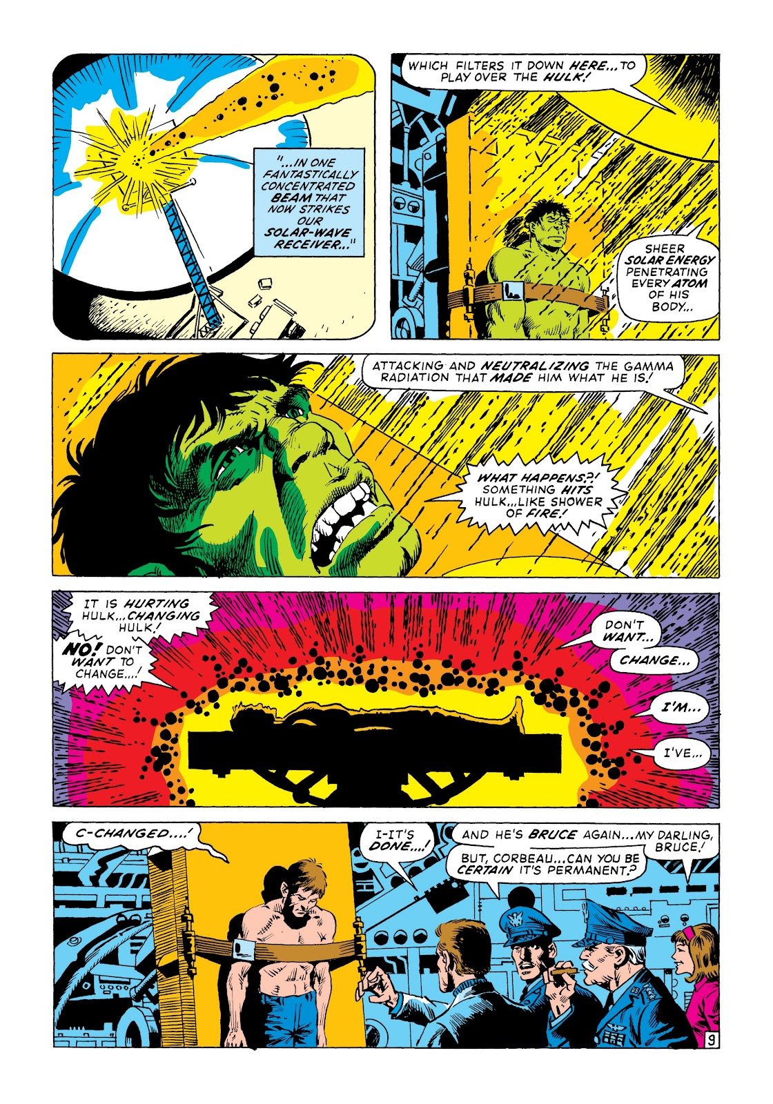Read online Marvel Masterworks: The Incredible Hulk comic -  Issue # TPB 8 (Part 1) - 94