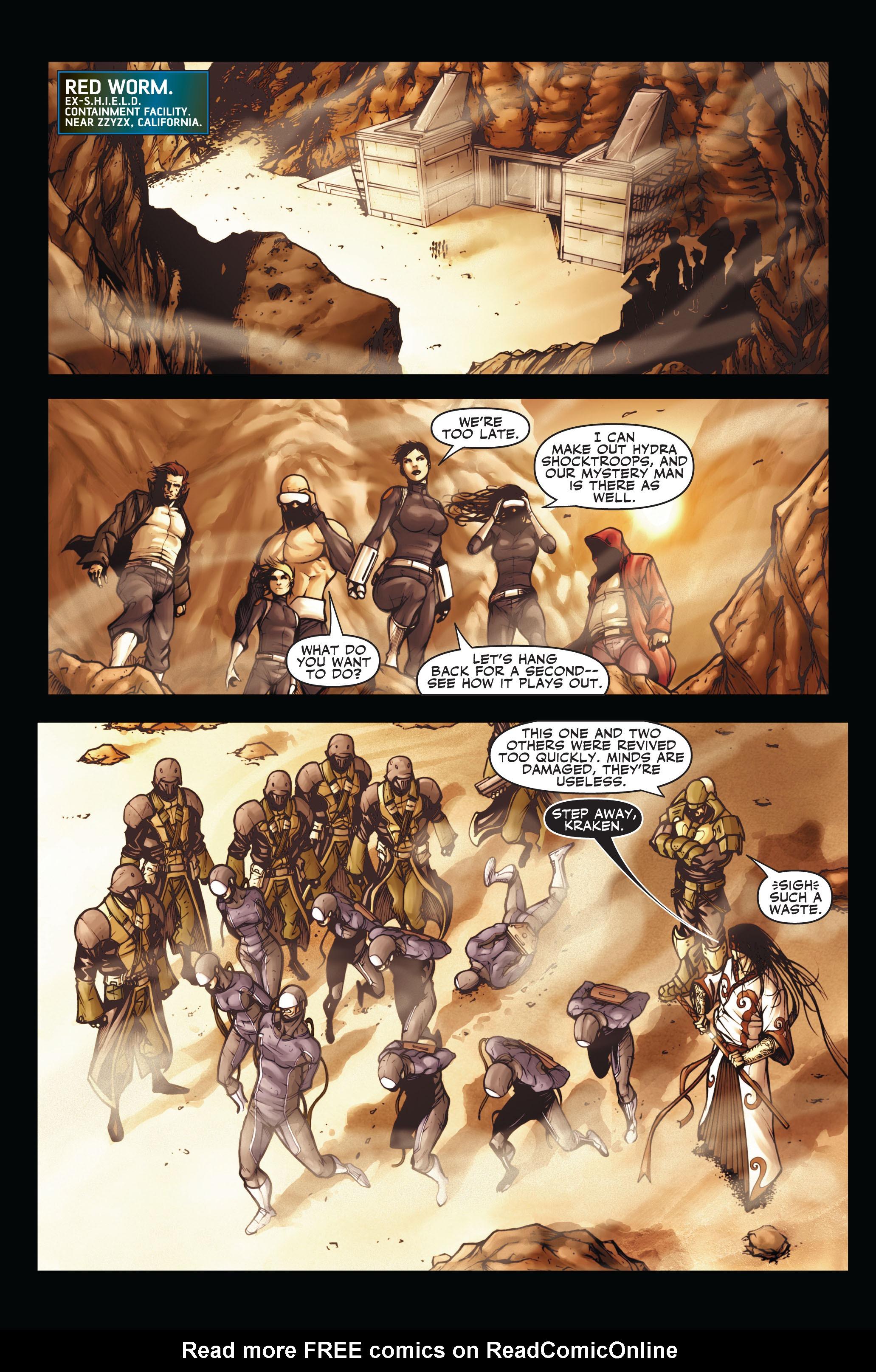 Read online Secret Warriors comic -  Issue #3 - 14