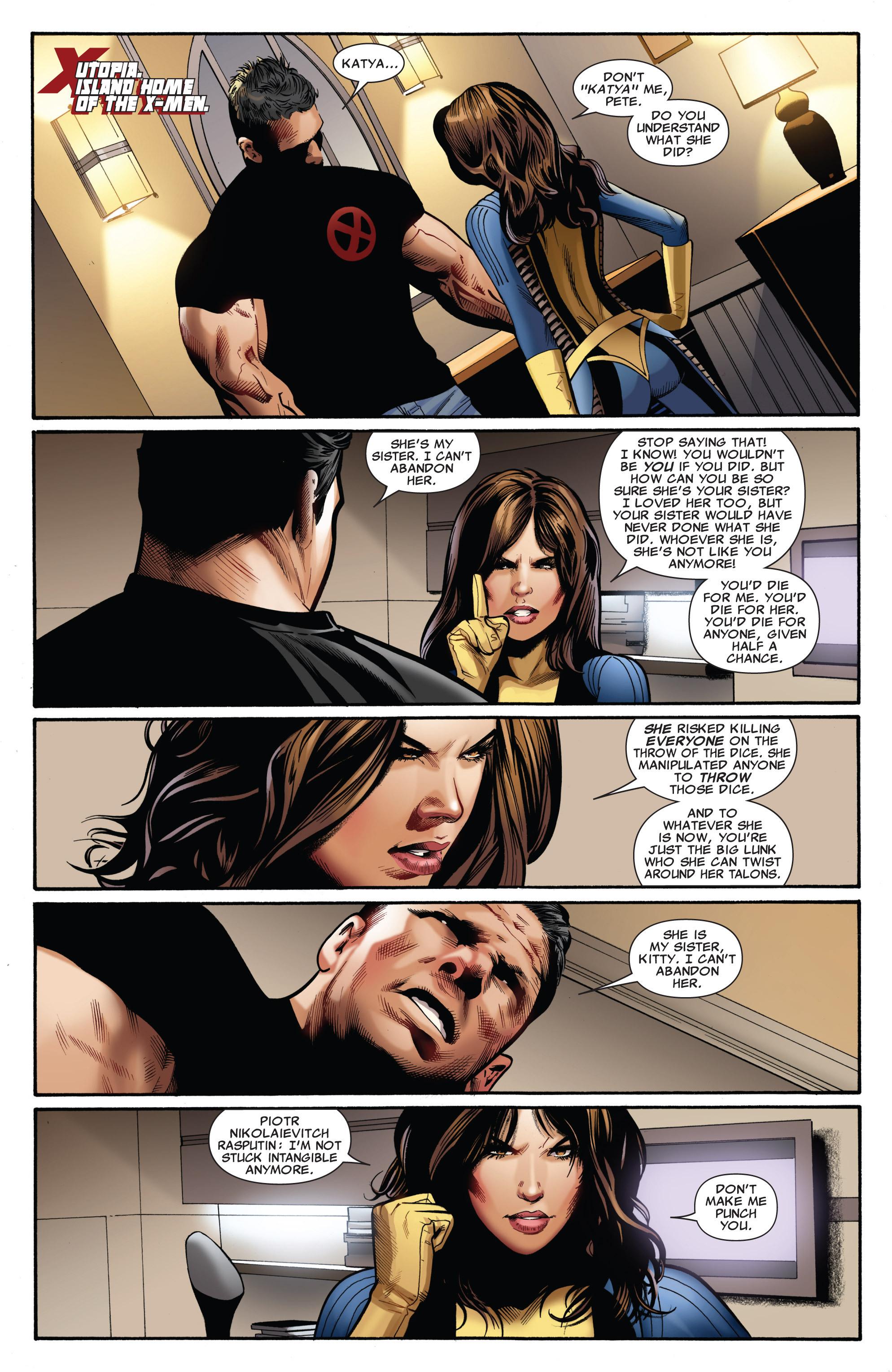 Read online Uncanny X-Men (1963) comic -  Issue #540 - 12
