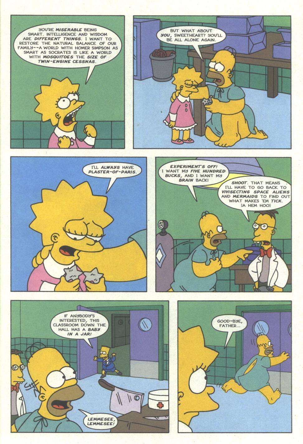 Read online Simpsons Comics comic -  Issue #27 - 22