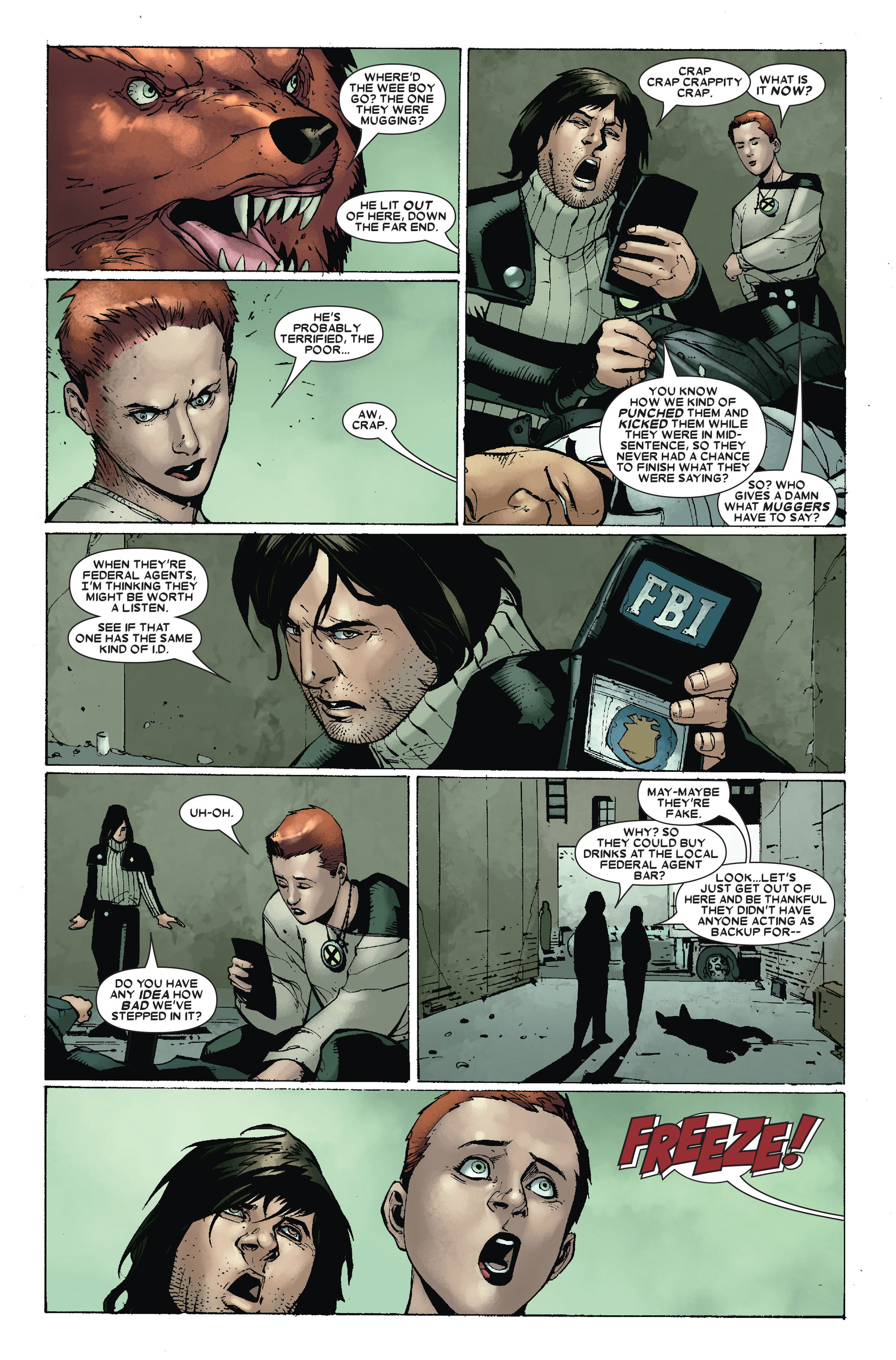 Read online X-Factor (2006) comic -  Issue #17 - 18