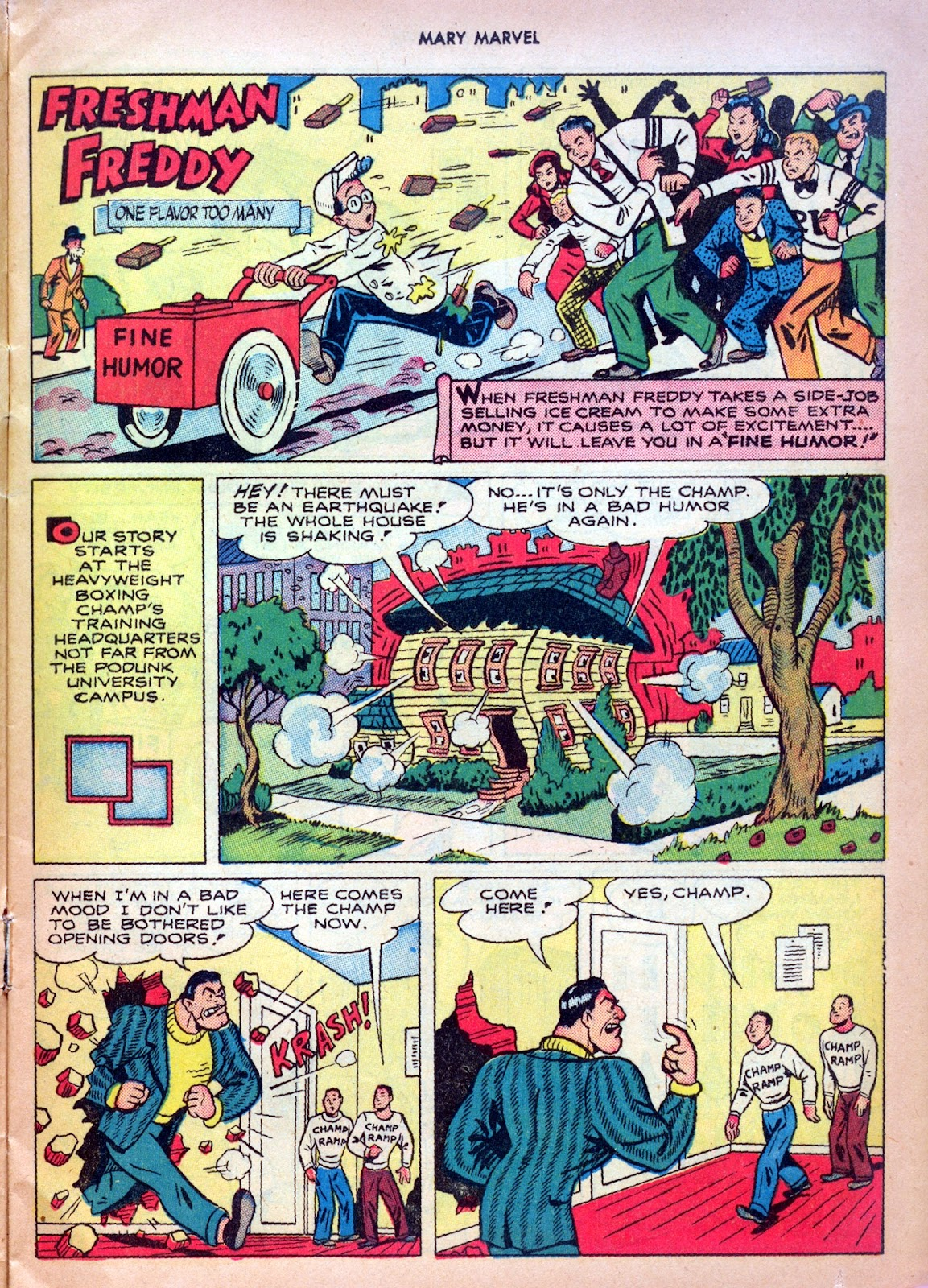Read online Mary Marvel comic -  Issue #27 - 13