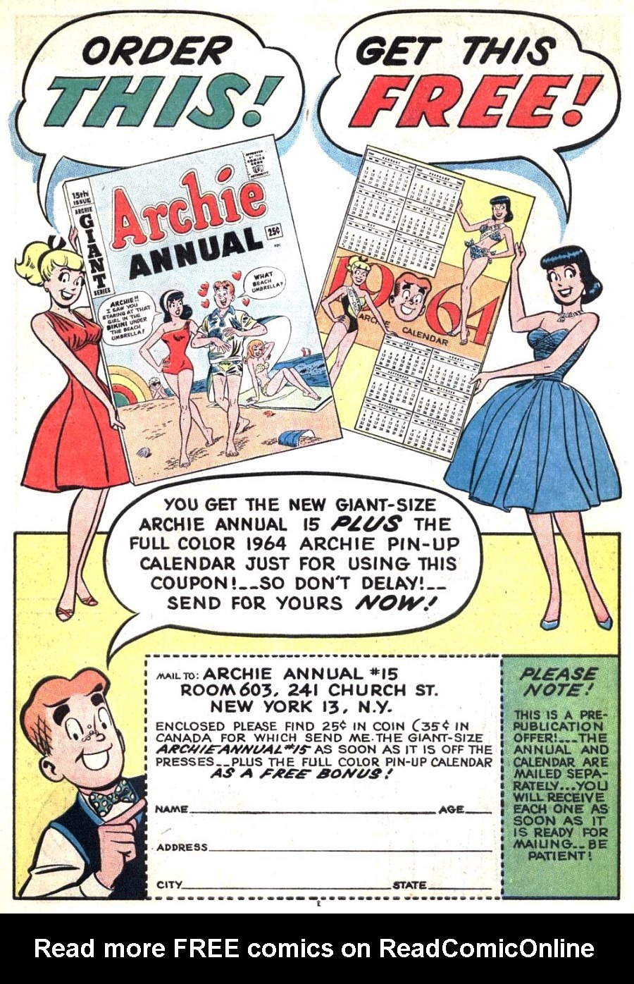 Read online Archie (1960) comic -  Issue #139 - 19