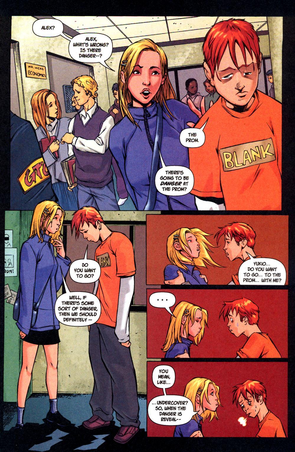 Read online SpyBoy: Final Exam comic -  Issue #1 - 19