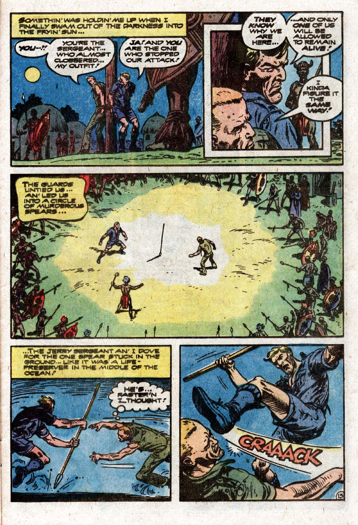 Read online Sgt. Rock comic -  Issue #319 - 16
