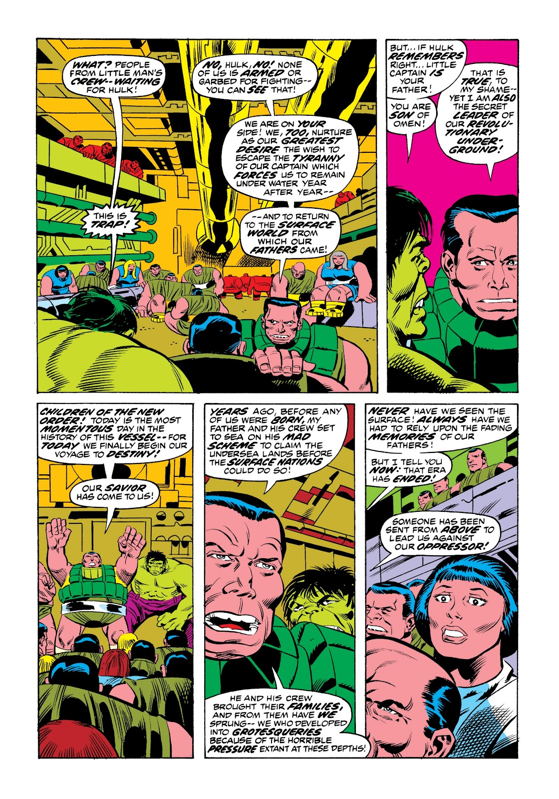 Read online Marvel Masterworks: The Incredible Hulk comic -  Issue # TPB 9 (Part 2) - 81