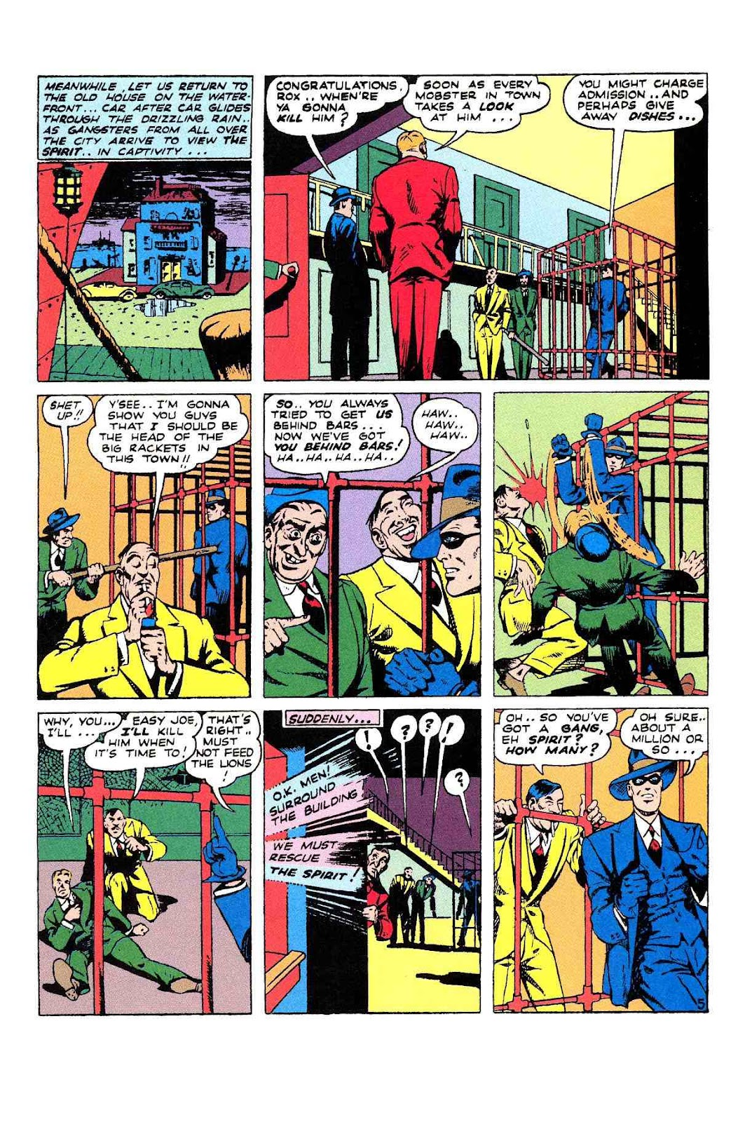 Read online Will Eisner's The Spirit Archives comic -  Issue # TPB 2 (Part 2) - 1