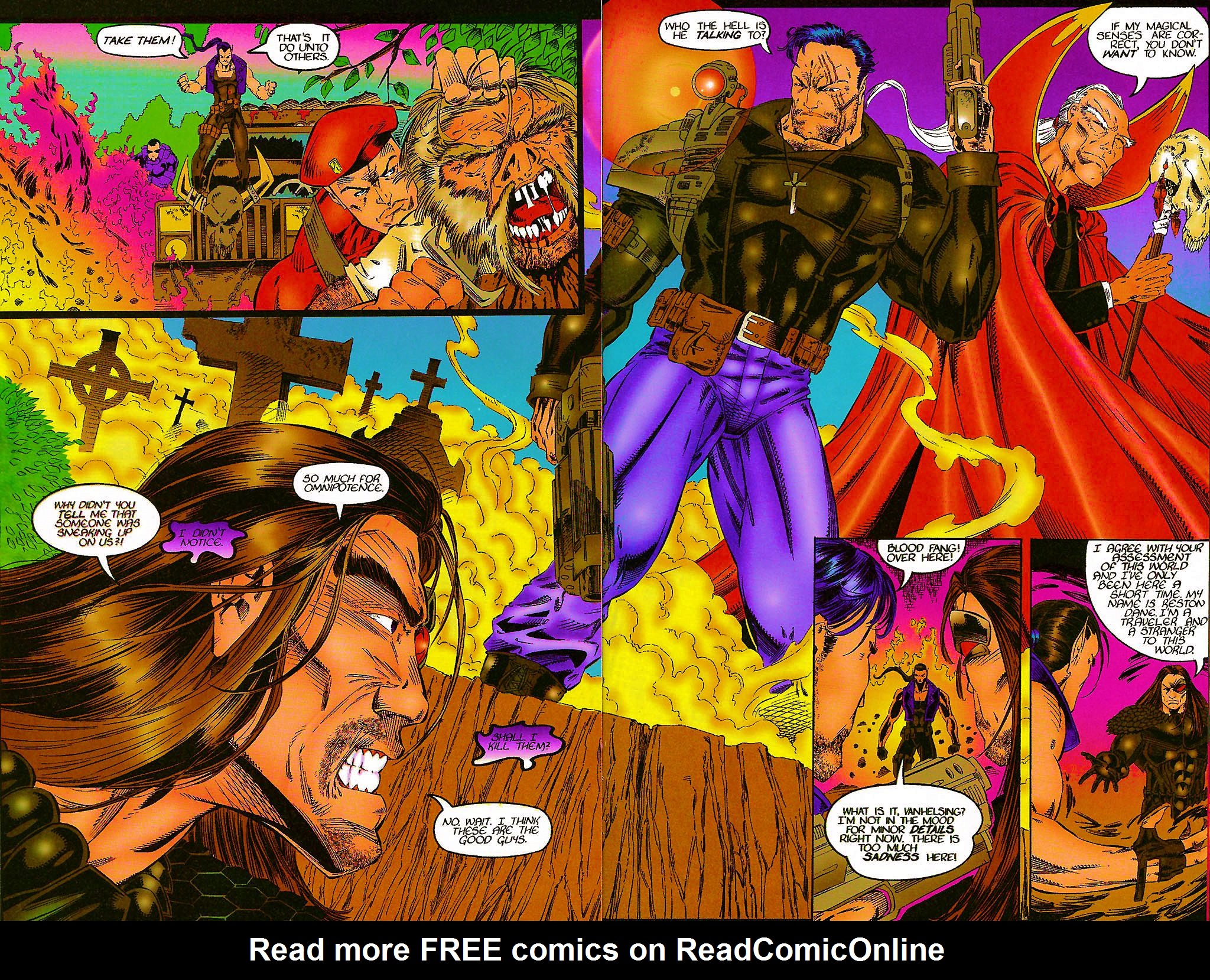 Read online Chains of Chaos comic -  Issue #1 - 20