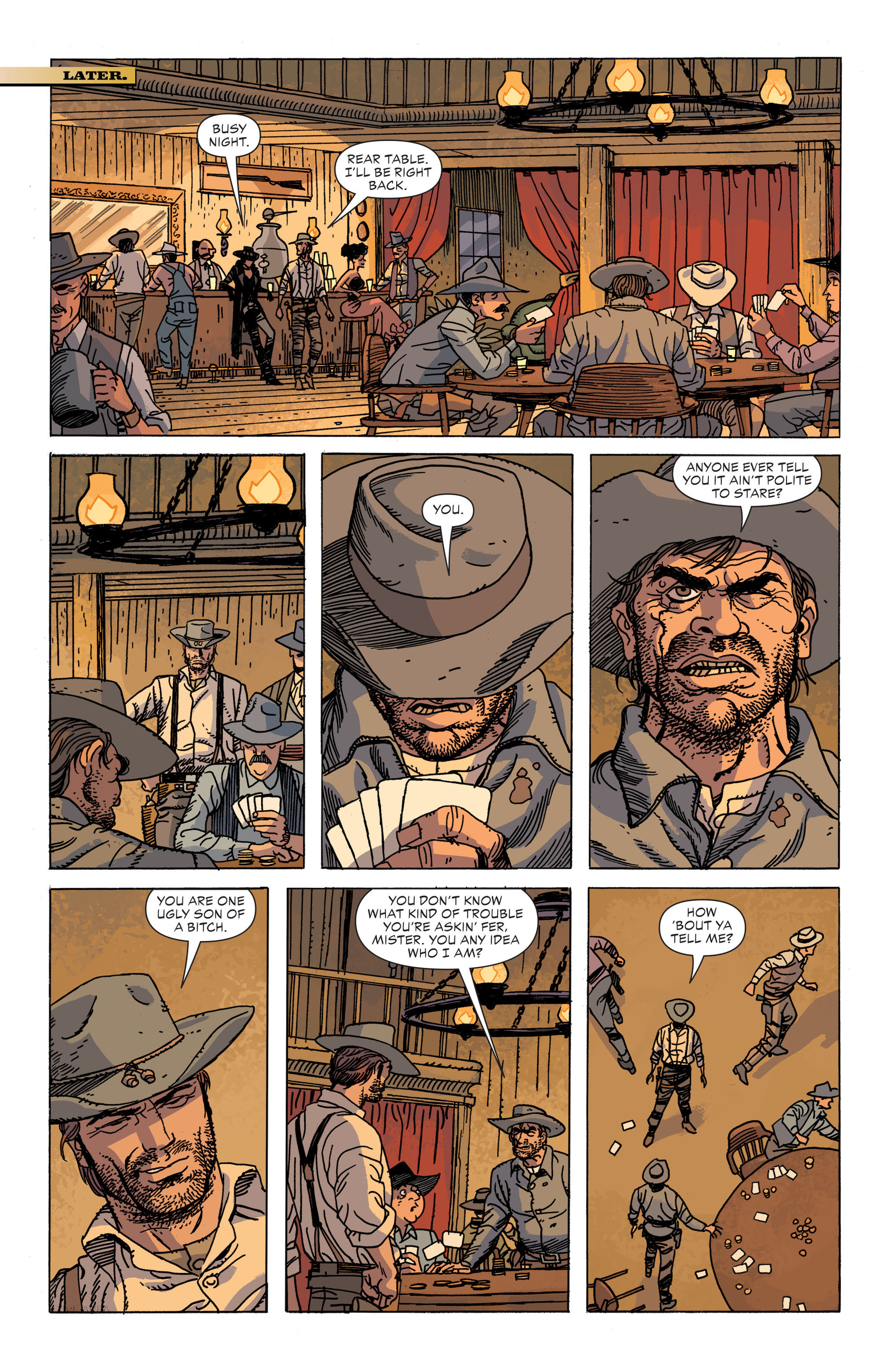Read online All-Star Western (2011) comic -  Issue #34 - 8
