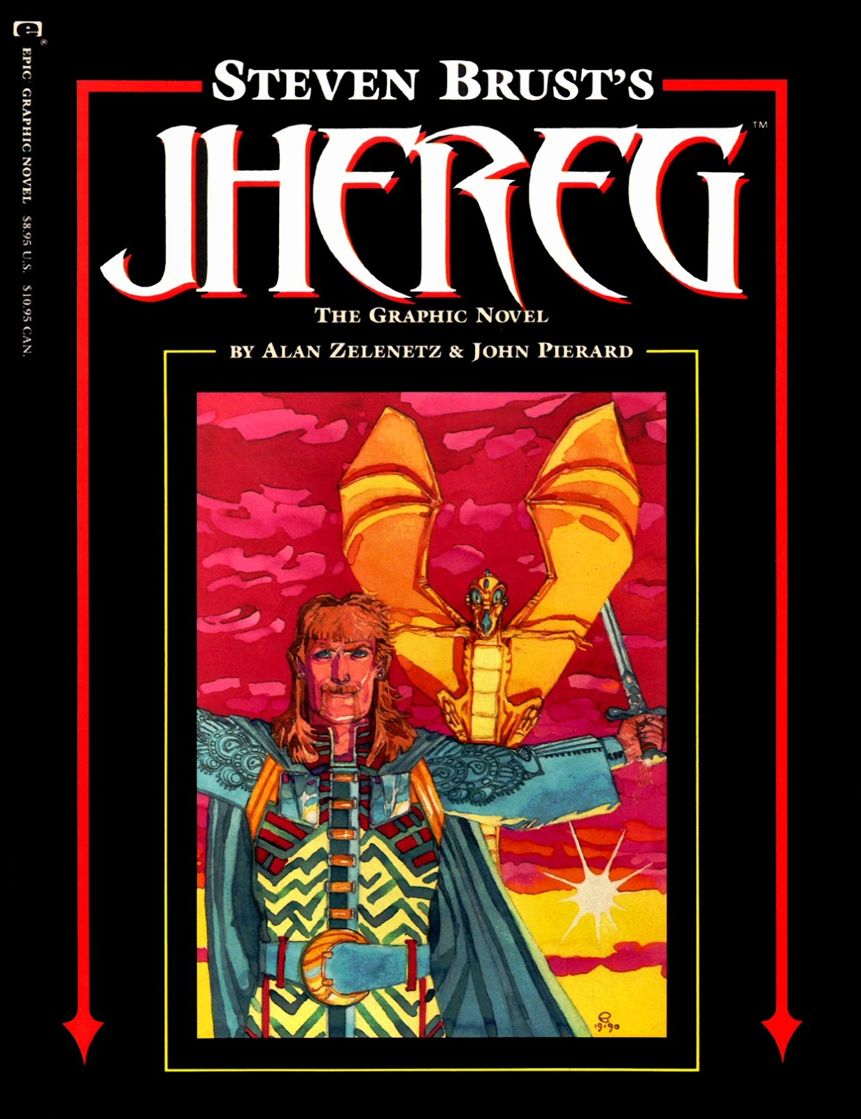 Jhereg: The Graphic Novel issue Full - Page 1