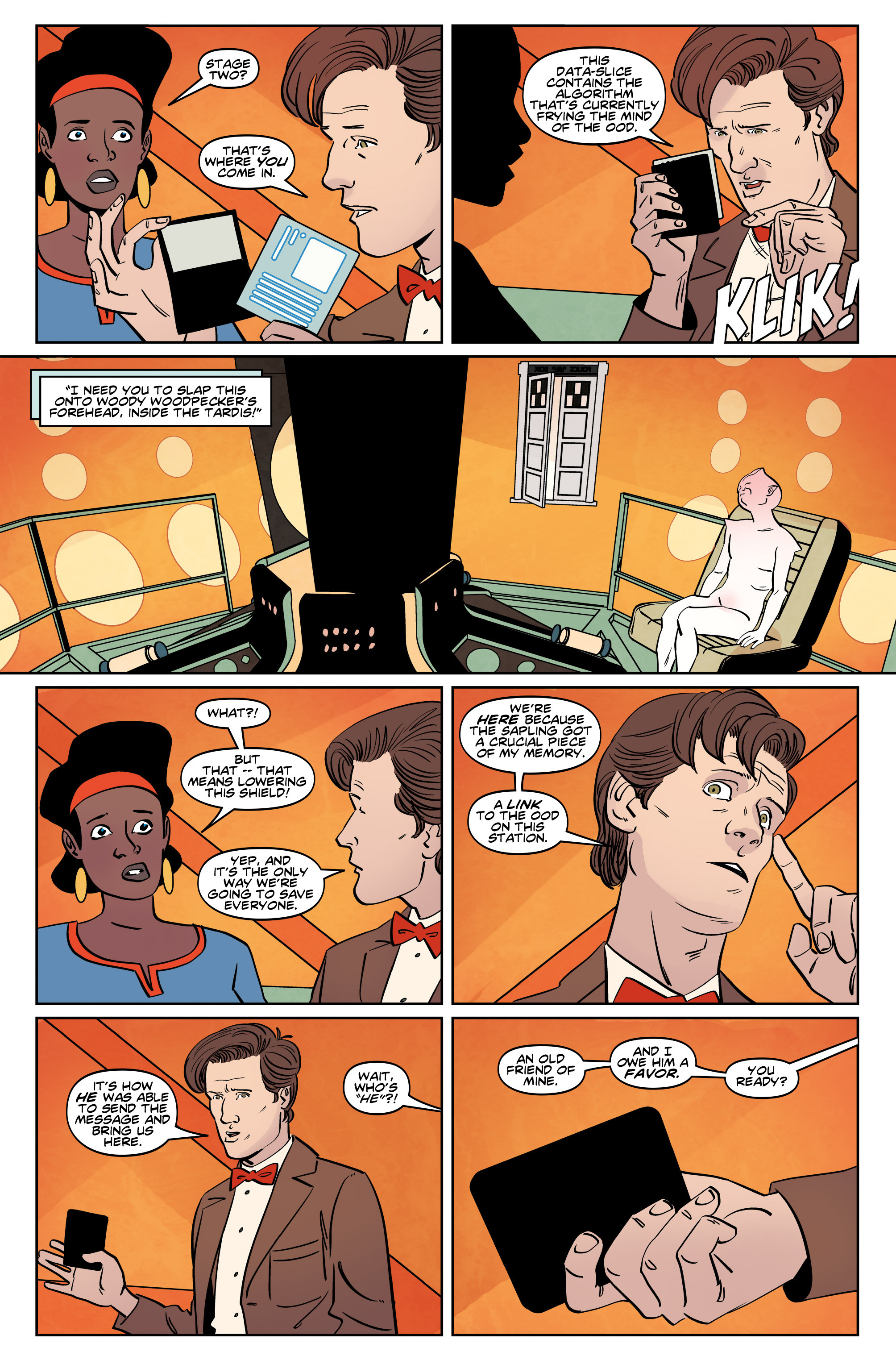 Read online Doctor Who: The Eleventh Doctor Year Three comic -  Issue #5 - 21