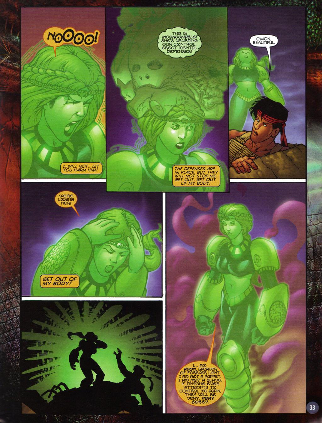 Read online Turok 2: Adon's Curse comic -  Issue # Full - 34
