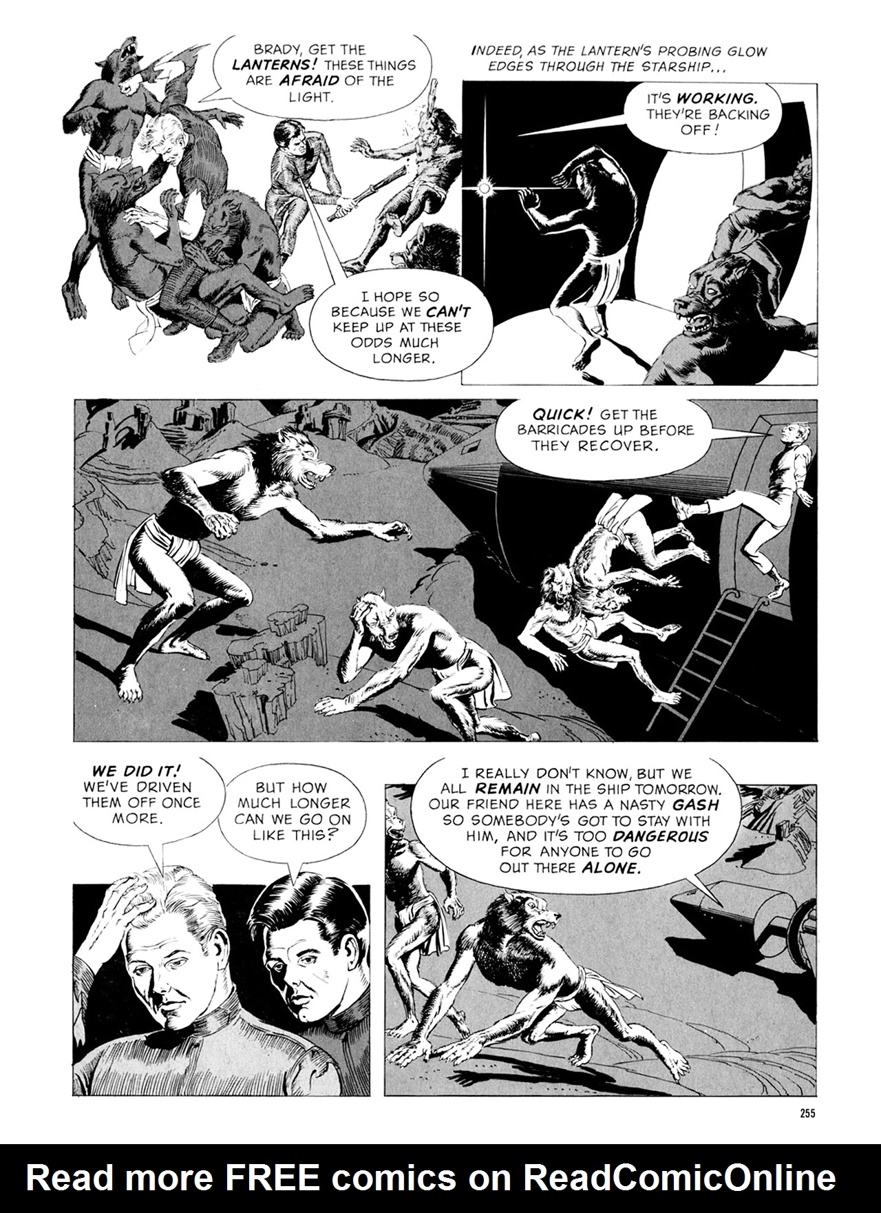 Read online Eerie Archives comic -  Issue # TPB 9 - 256