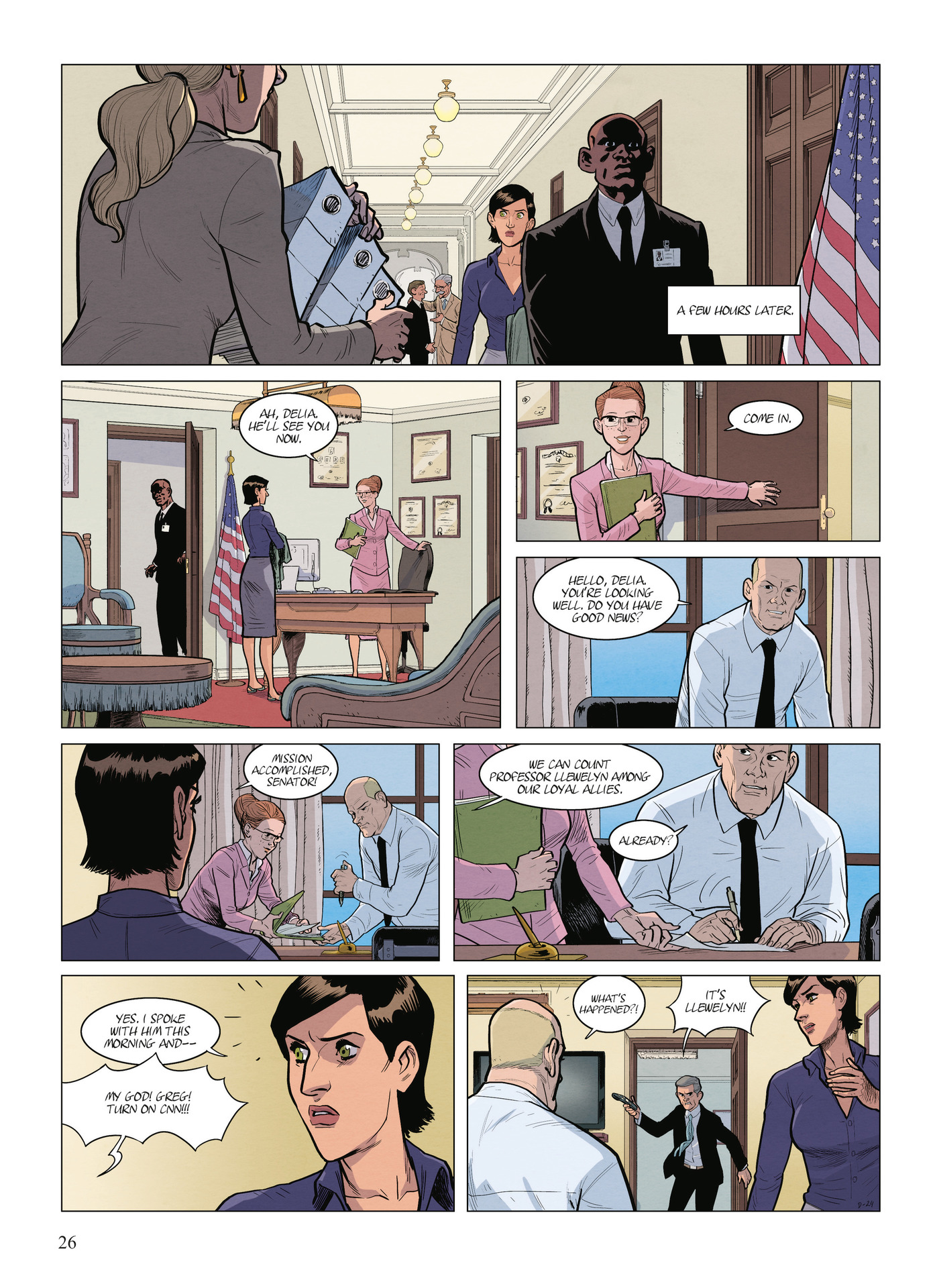 Read online Alter Ego comic -  Issue #9 - 28