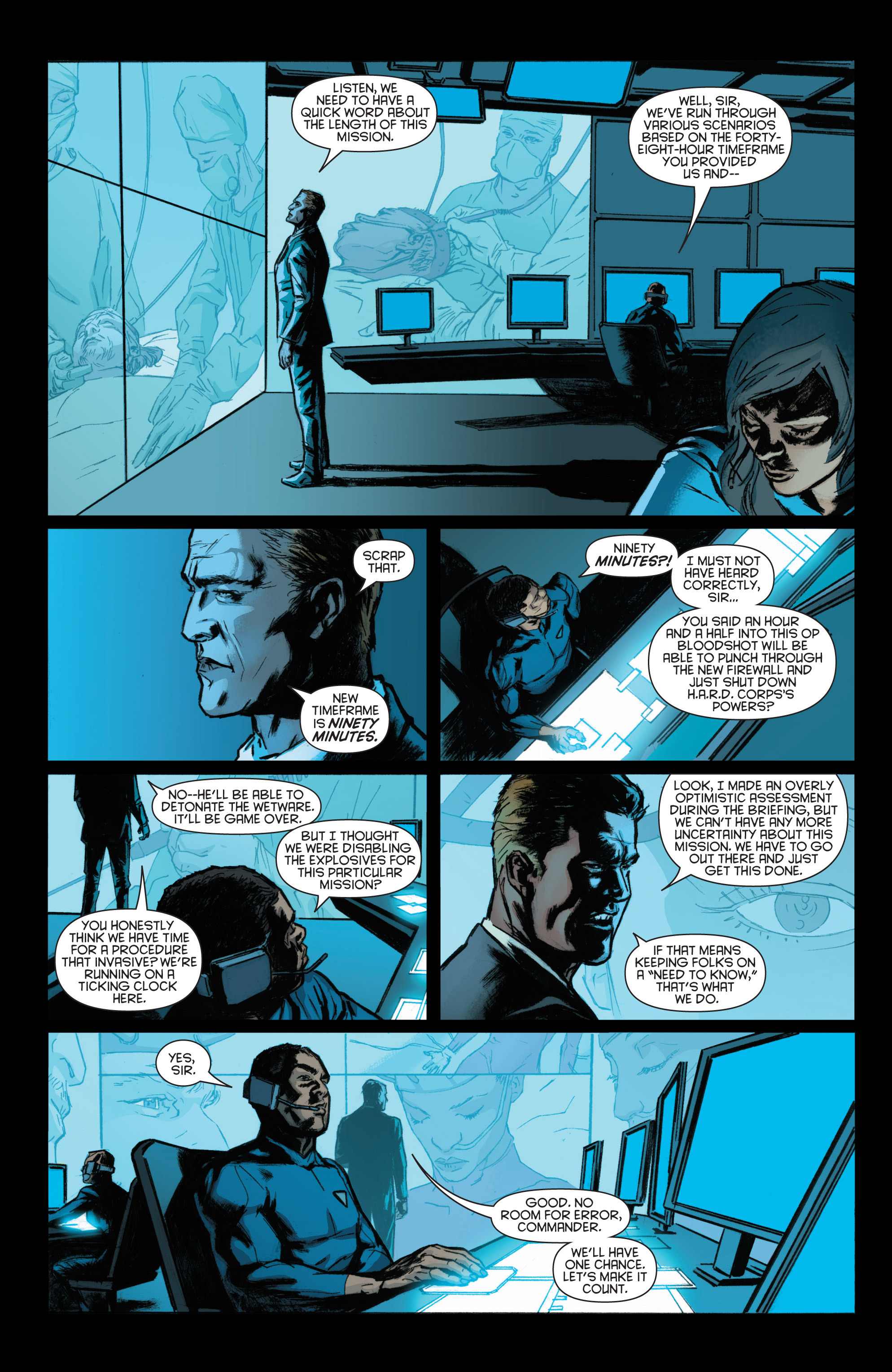 Read online Bloodshot and H.A.R.D.Corps comic -  Issue #22 - 13