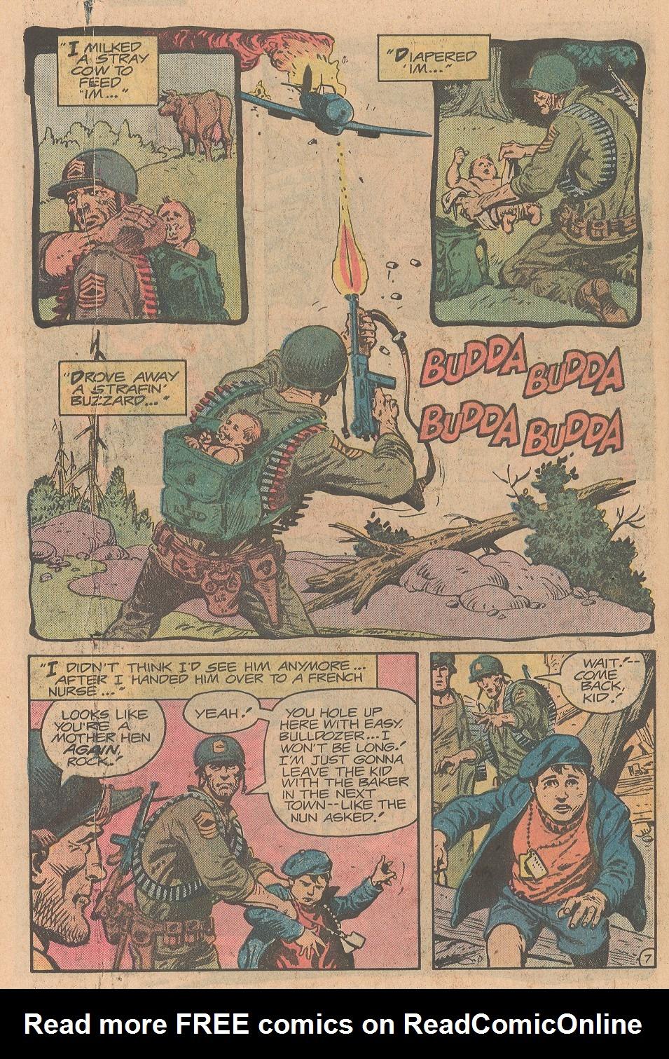 Read online Sgt. Rock comic -  Issue #357 - 8