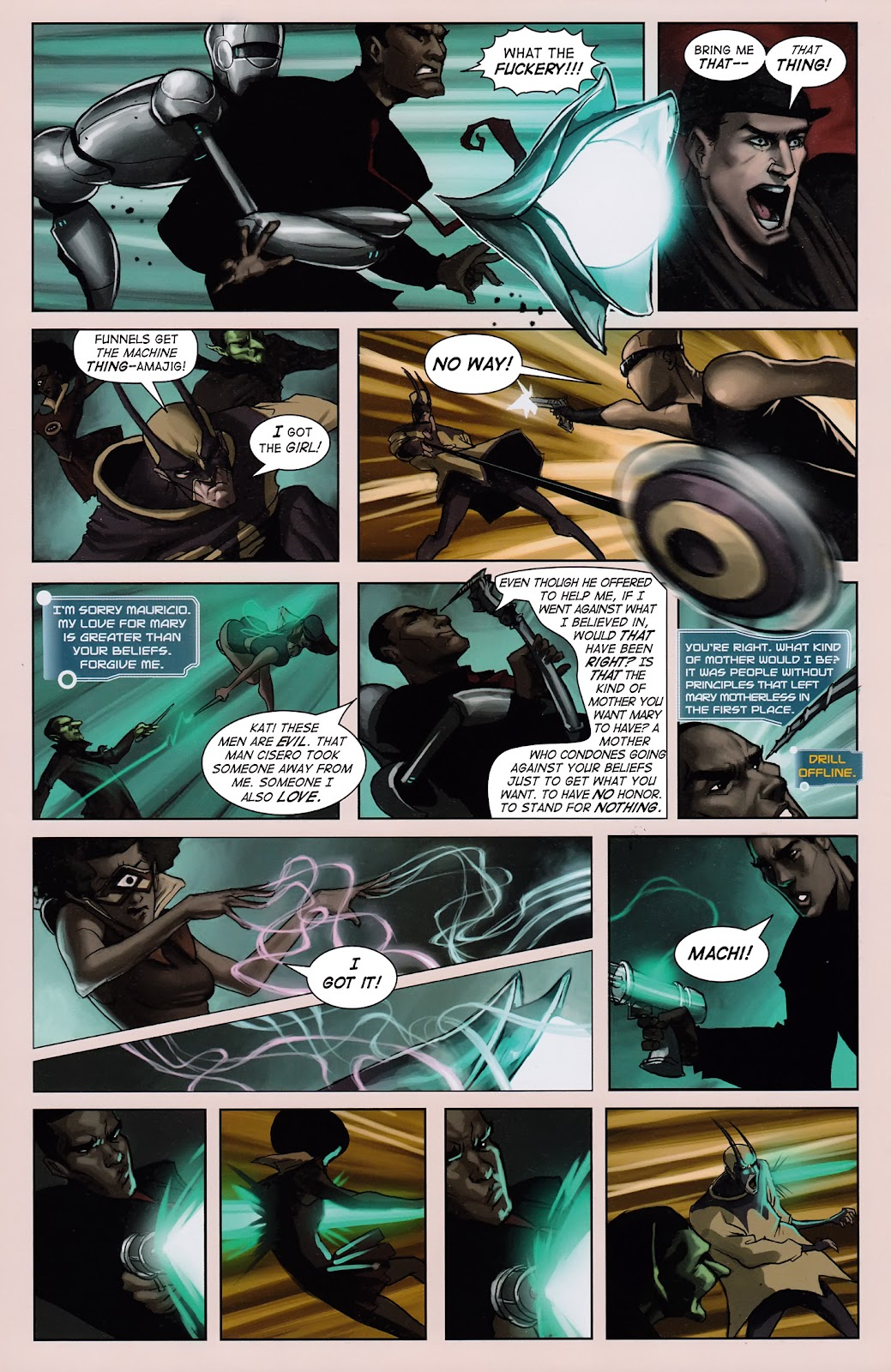 Read online Vescell comic -  Issue #3 - 6