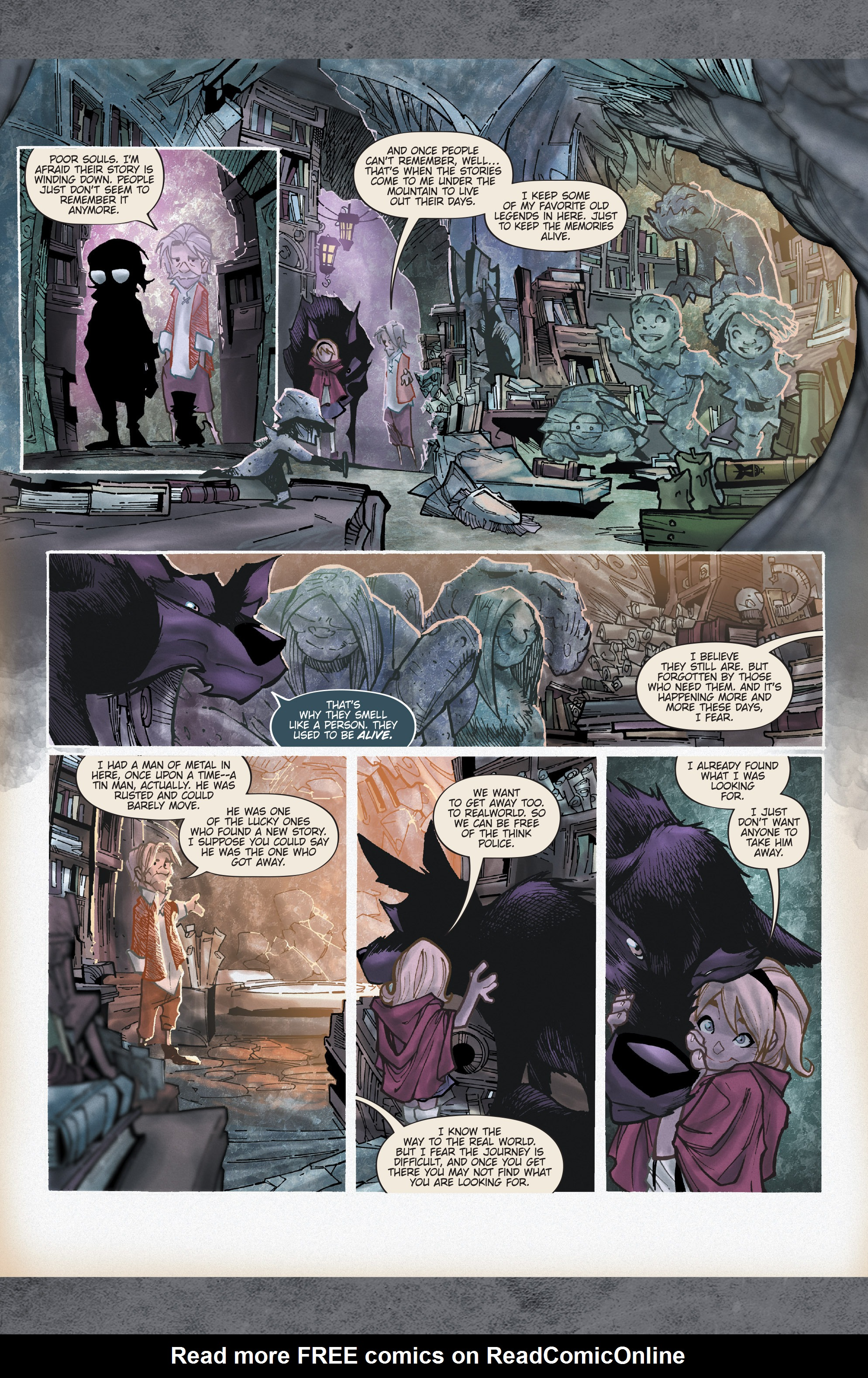 Read online Fairy Quest: Outcasts comic -  Issue #2 - 9