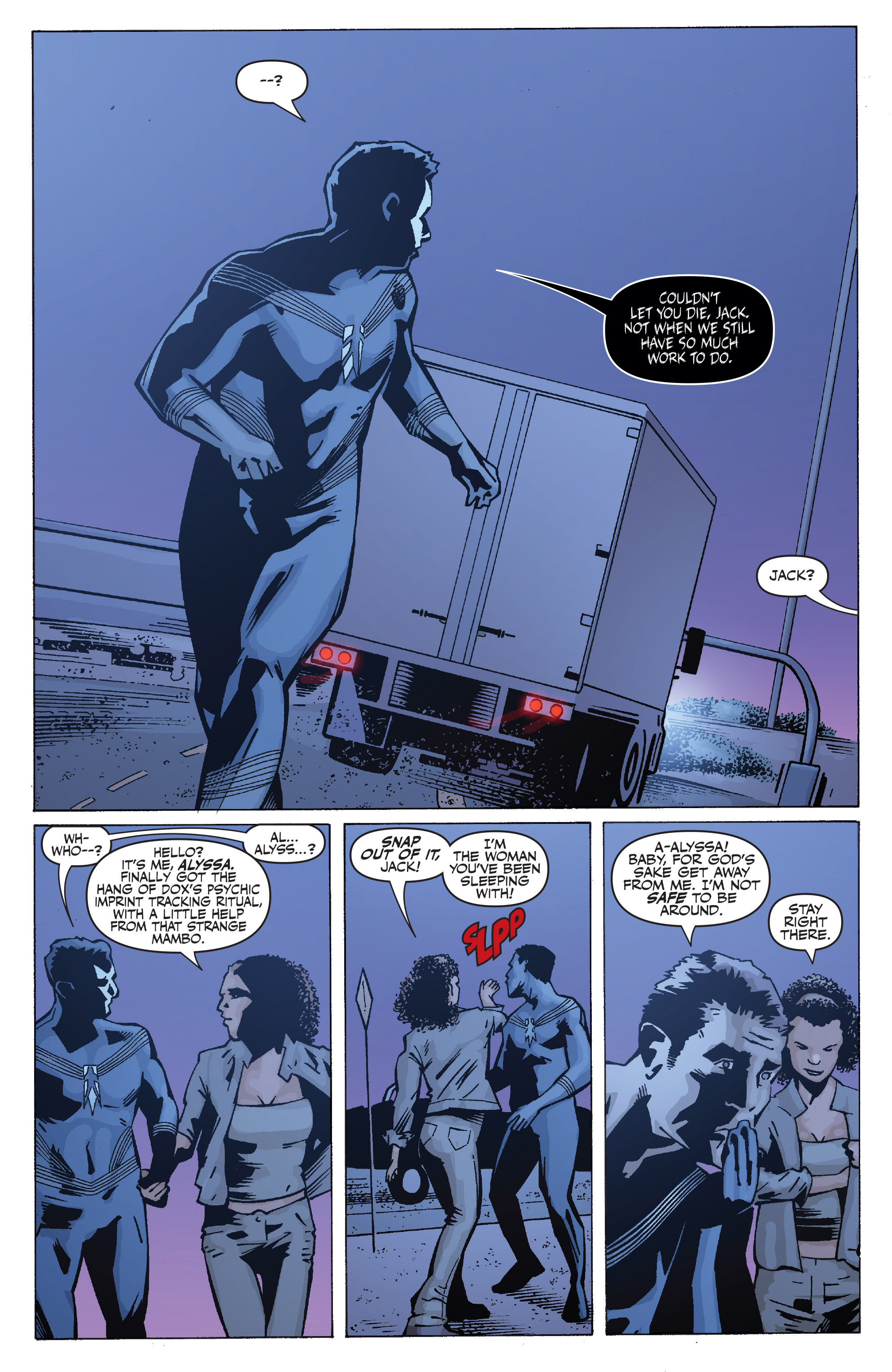 Read online Shadowman: End Times comic -  Issue #1 - 21