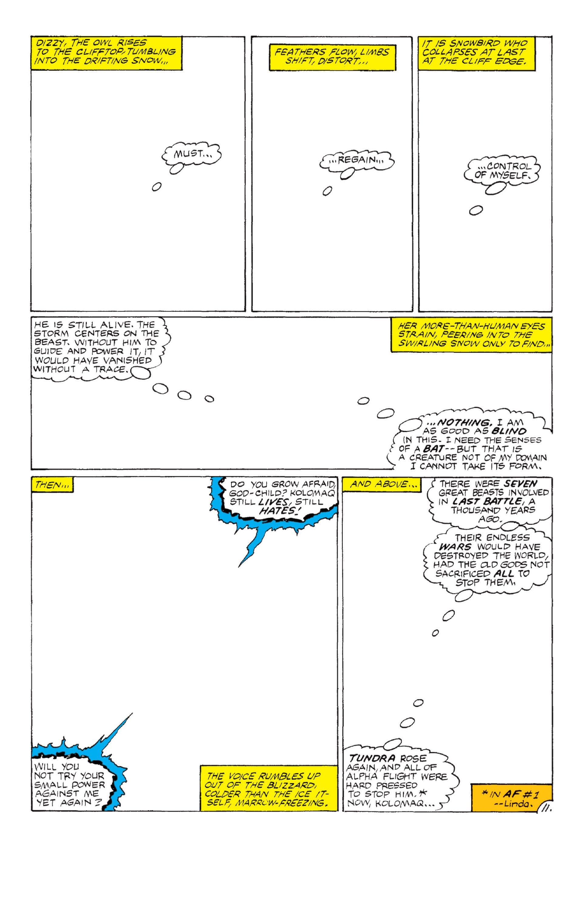 Read online Alpha Flight (1983) comic -  Issue #6 - 12