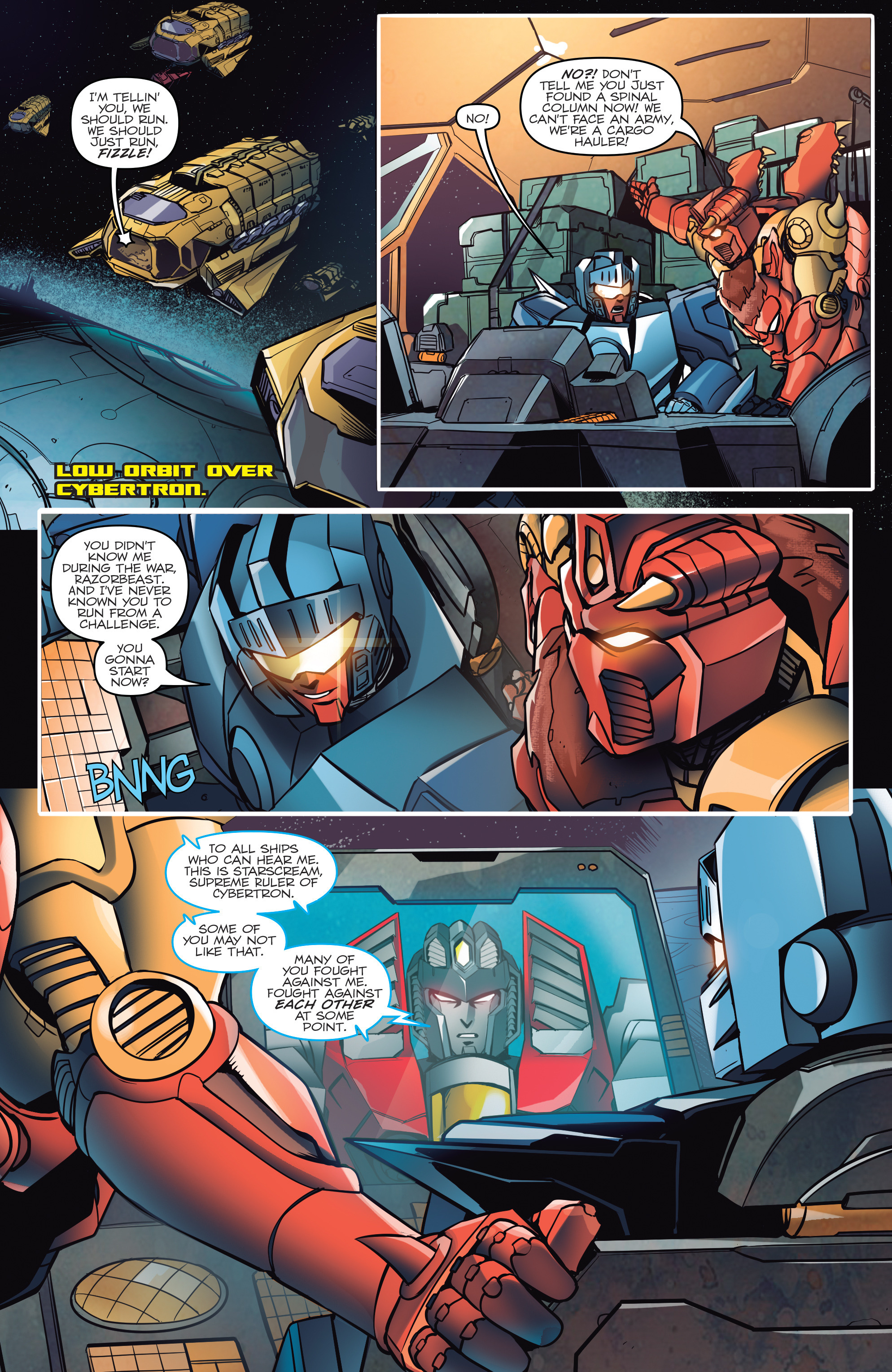 Read online Transformers: Till All Are One comic -  Issue #5 - 13