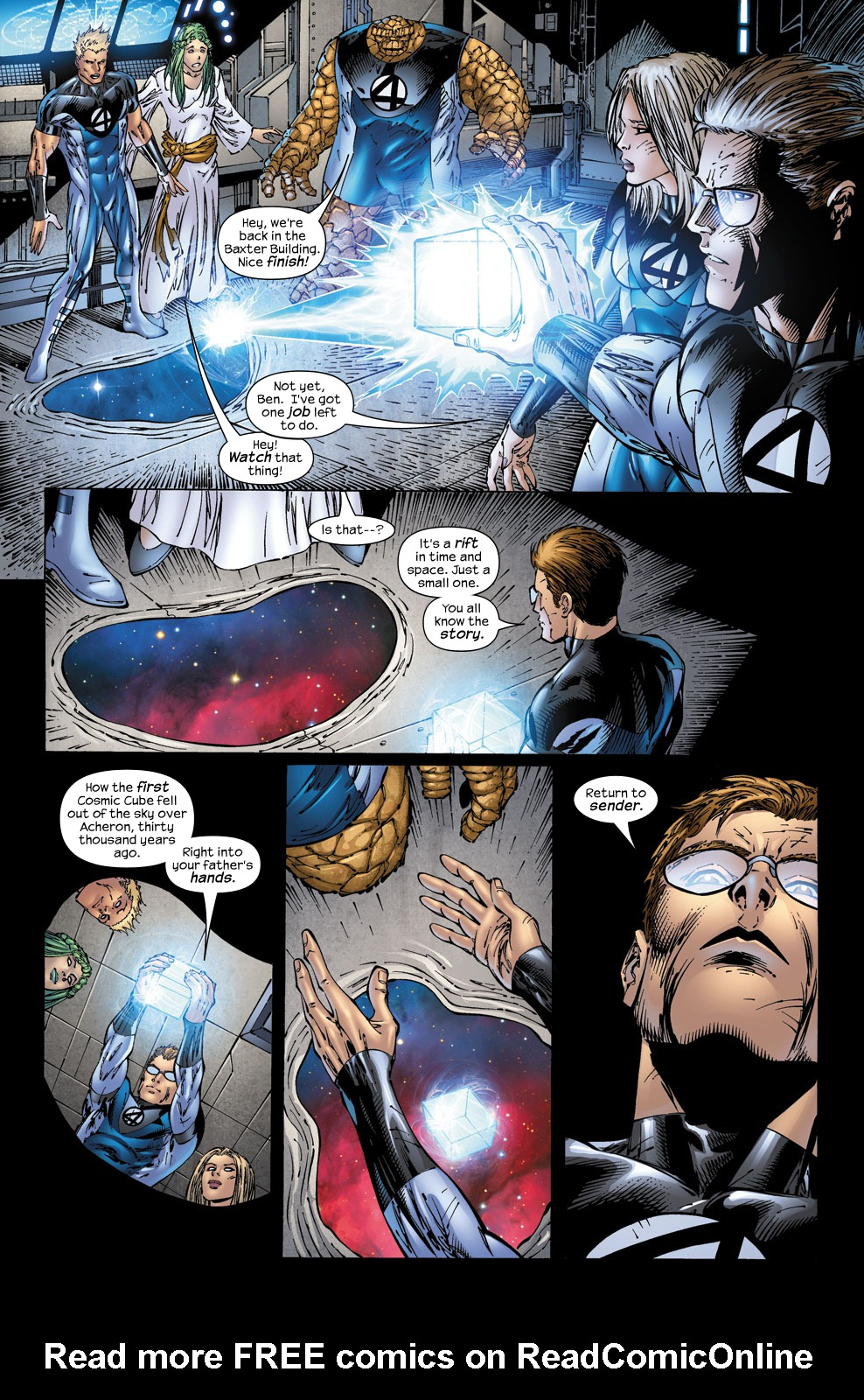 Read online Ultimate Fantastic Four (2004) comic -  Issue #53 - 22