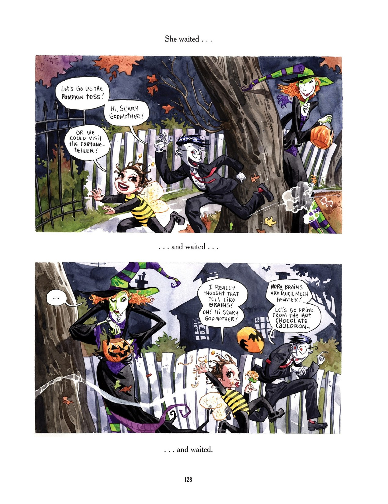 Read online Scary Godmother comic -  Issue # TPB - 128