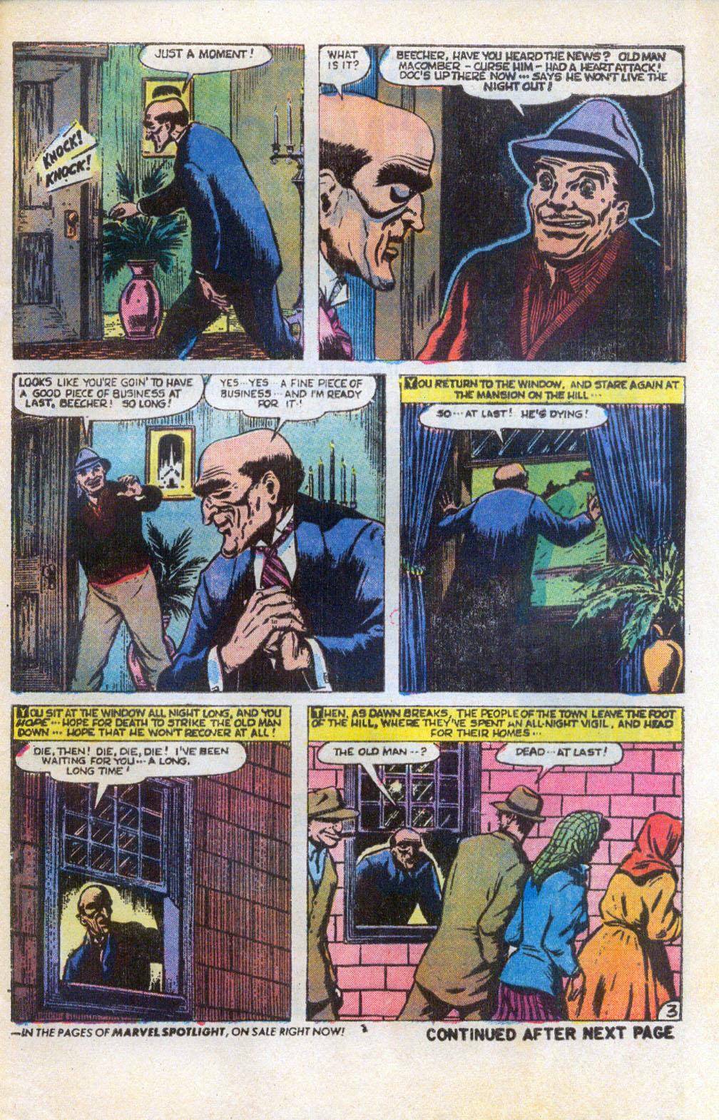 Read online Adventures into Weird Worlds comic -  Issue #5 - 4