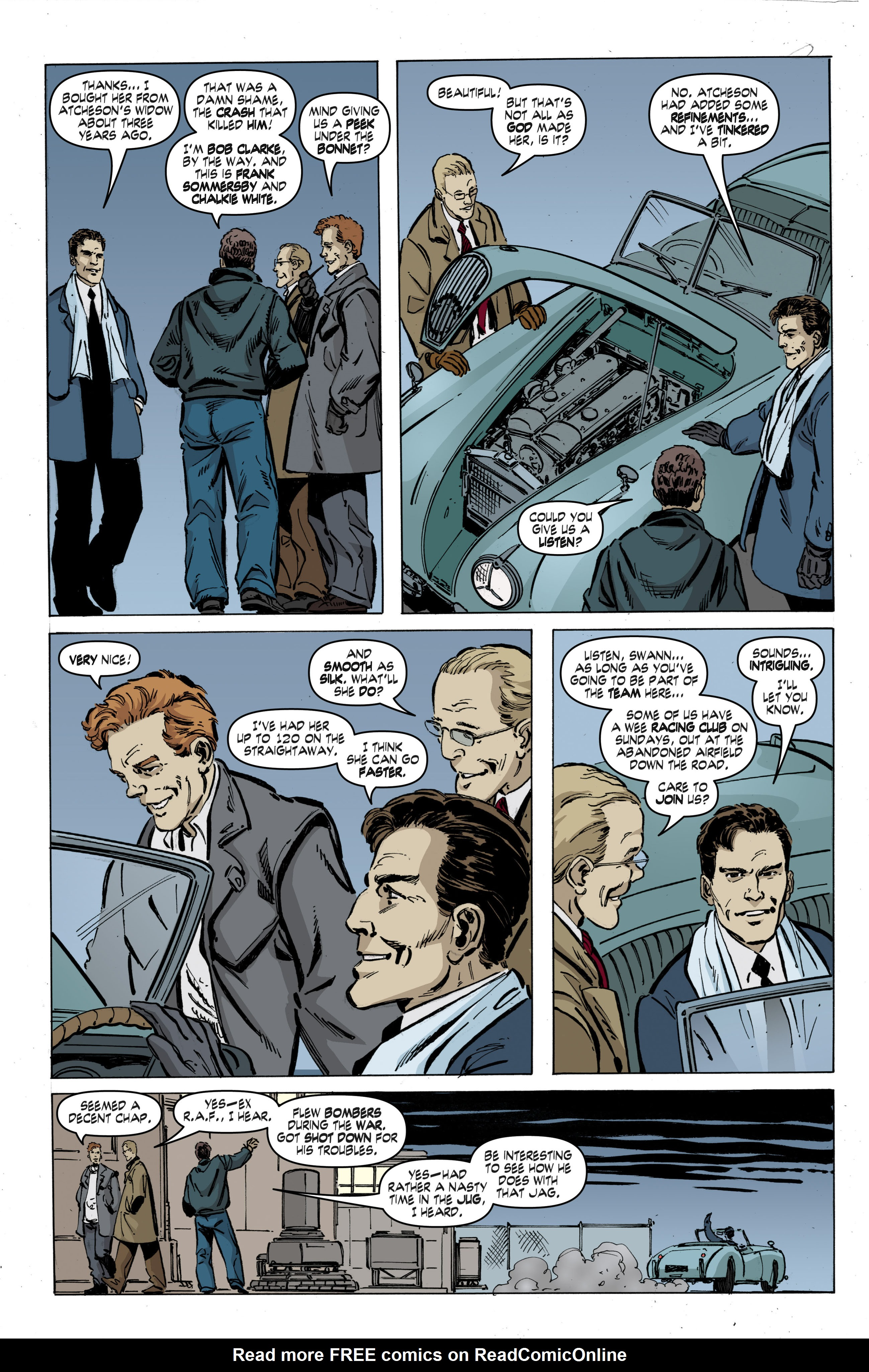 Read online Cold War comic -  Issue # TPB - 42