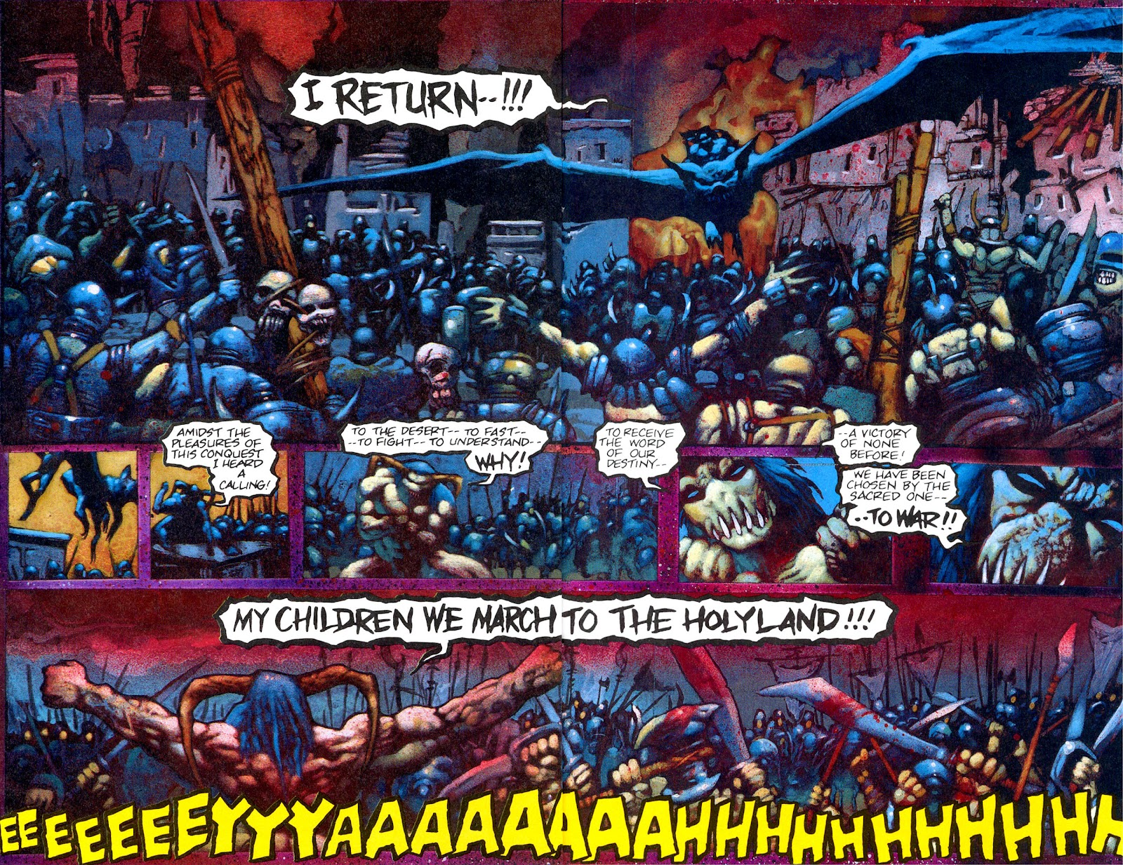 Read online Melting Pot comic -  Issue #3 - 24