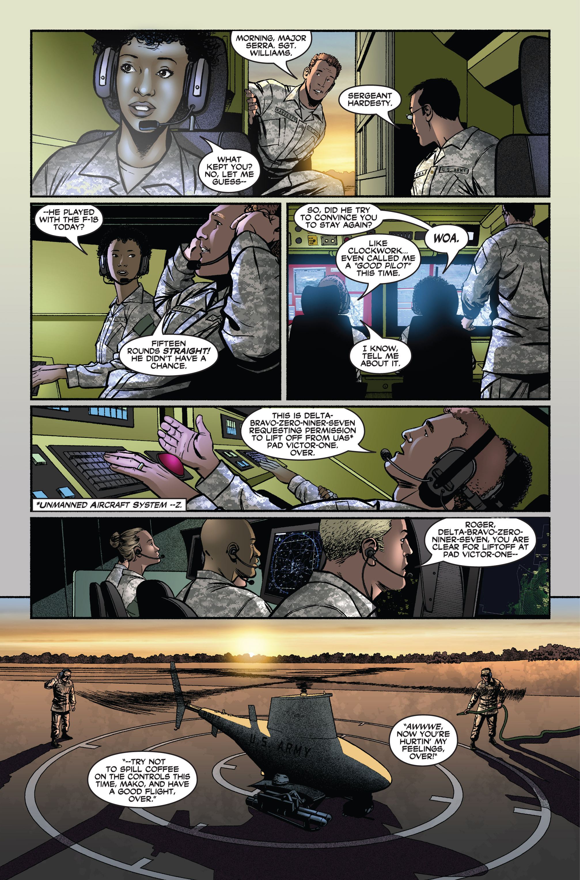Read online America's Army comic -  Issue #3 - 6